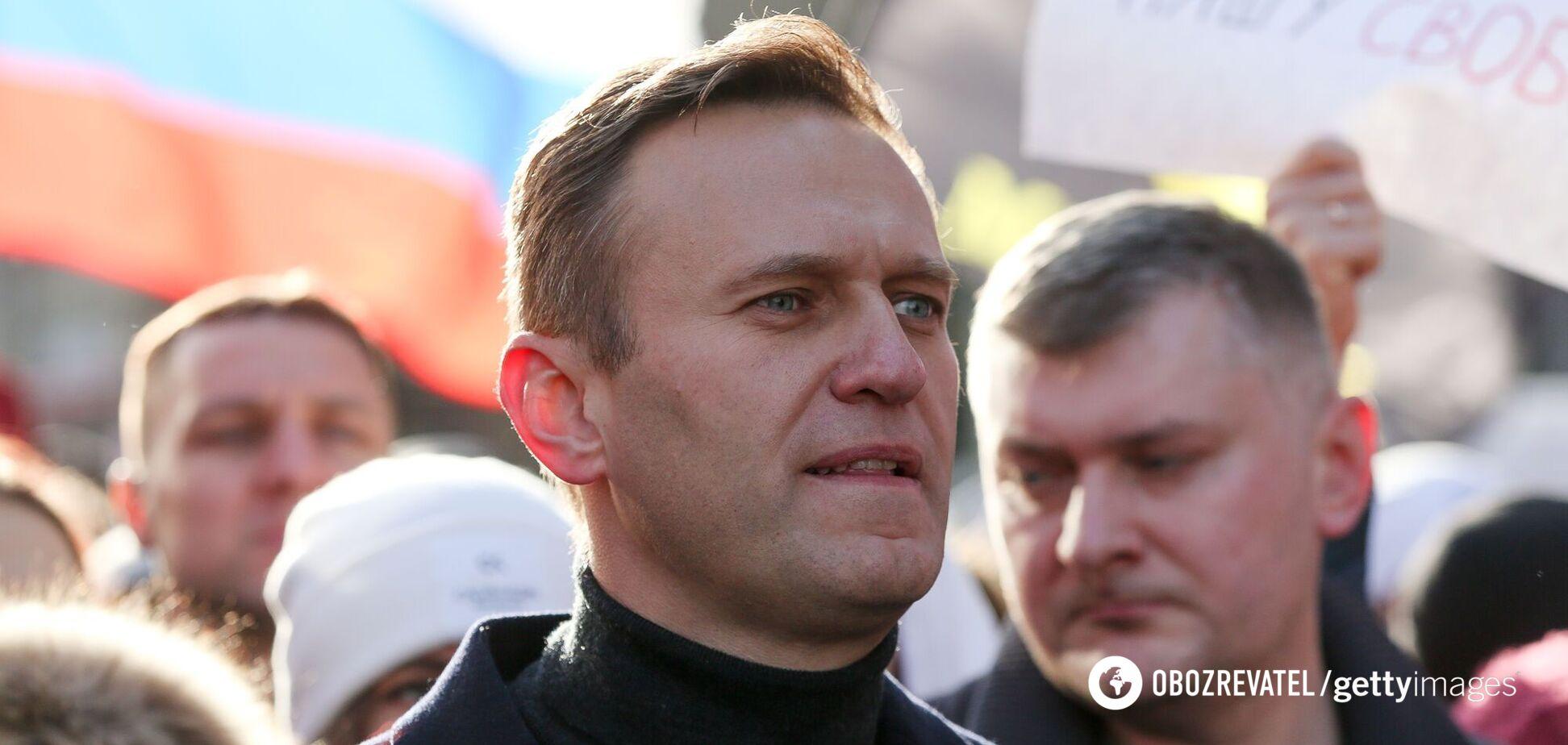Российский оппозиционер Алексей Навальный начал голодовку