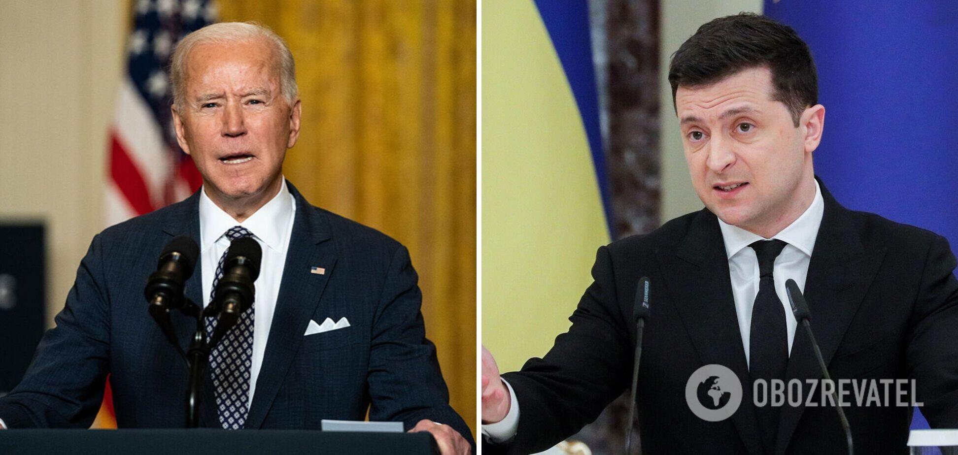 Нардепам 'Слуги народа' объяснили, как комментировать разговор Байдена и Зеленского