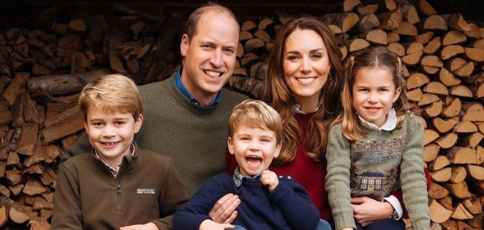 Принц Уильям и Кейт Миддлтон снялись в трогательном видео с детьми