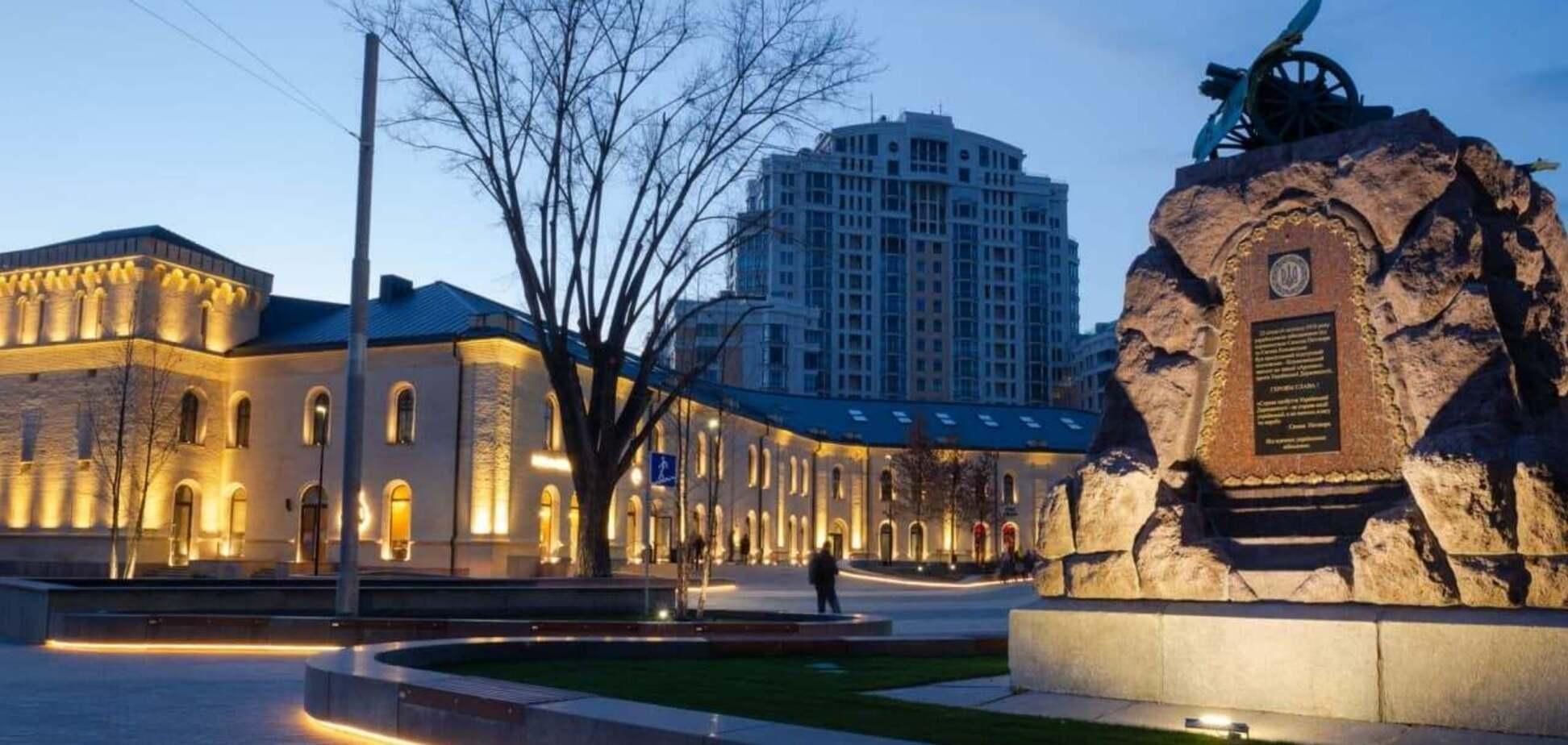 На Арсенальній площі в Києві відкриють музичний фонтан. Фото