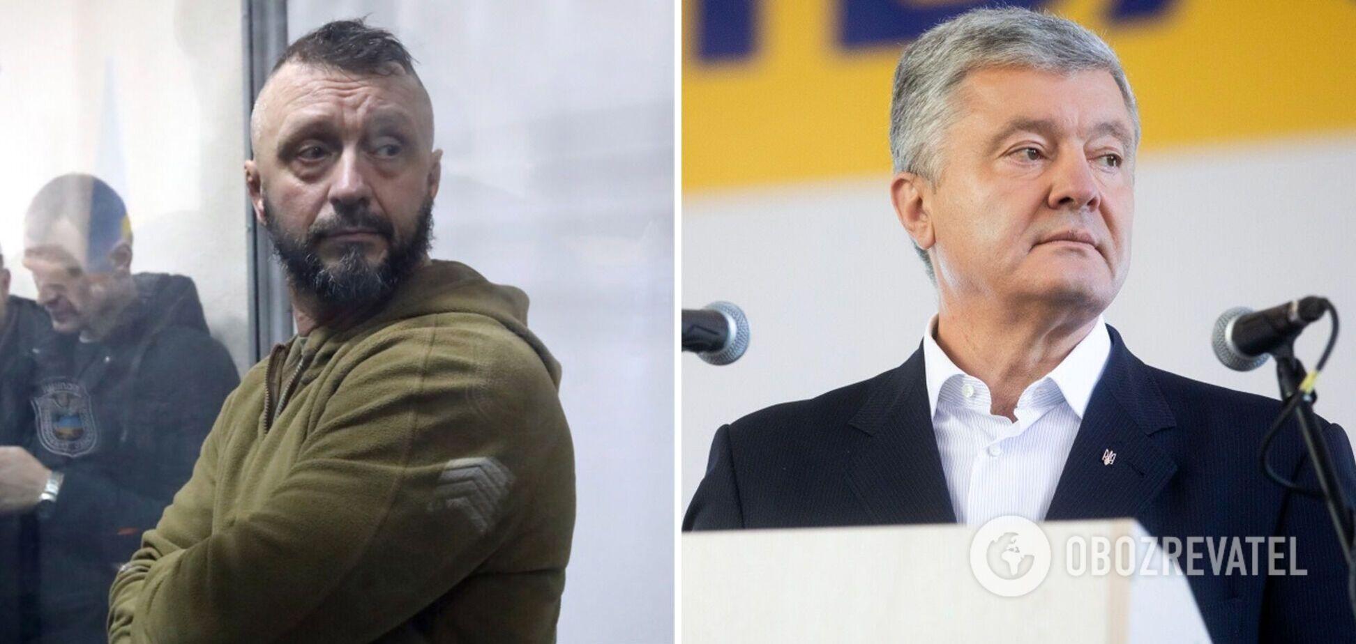Порошенко – об освобождении Антоненко из-под стражи: виновные в преследовании патриотов будут наказаны