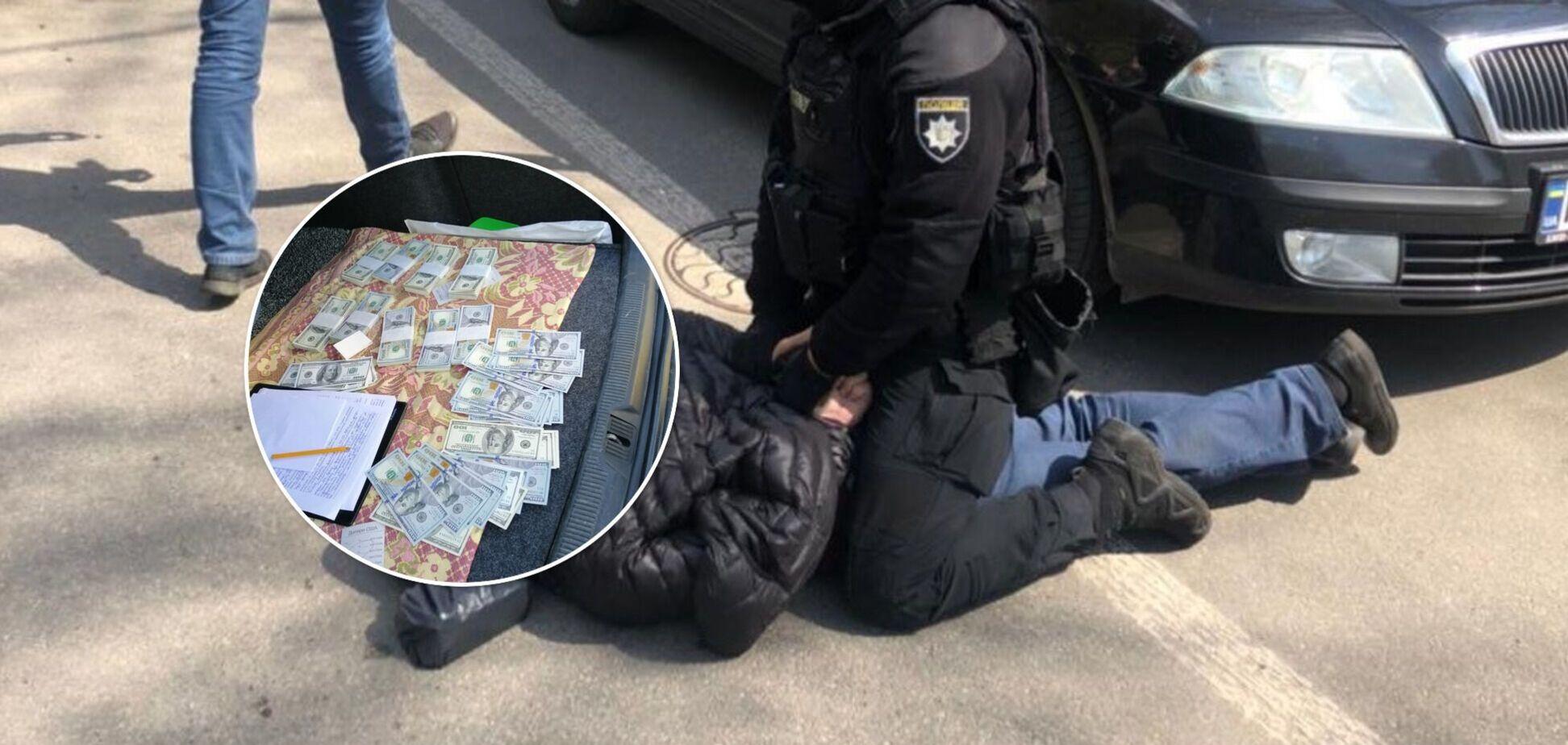 На Киевщине 'продавали' руководящую должность в Нацполиции за $220 тыс.