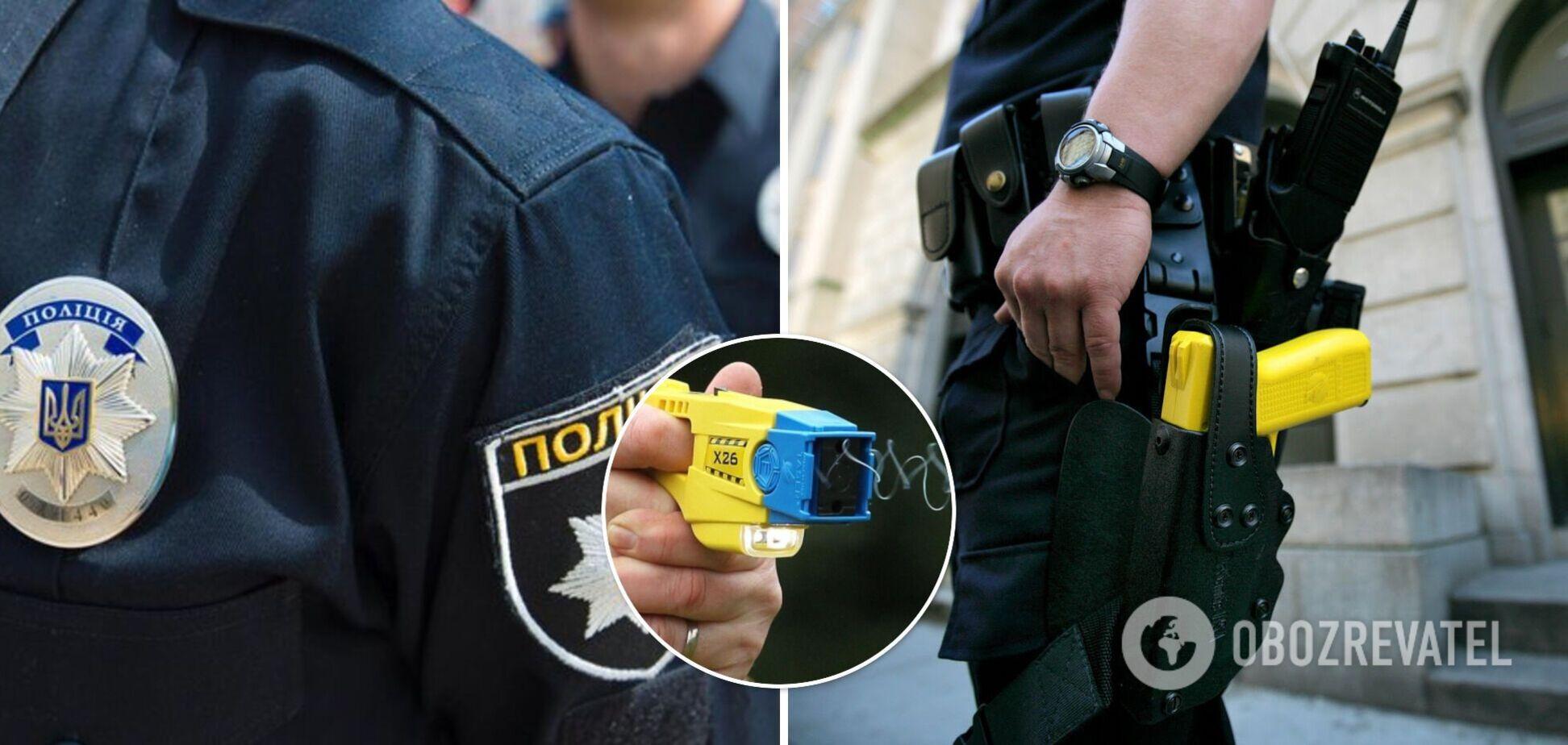 Полиции не разрешили использовать электрошокеры: что отпугнуло депутатов и почему Украине нужен этот закон