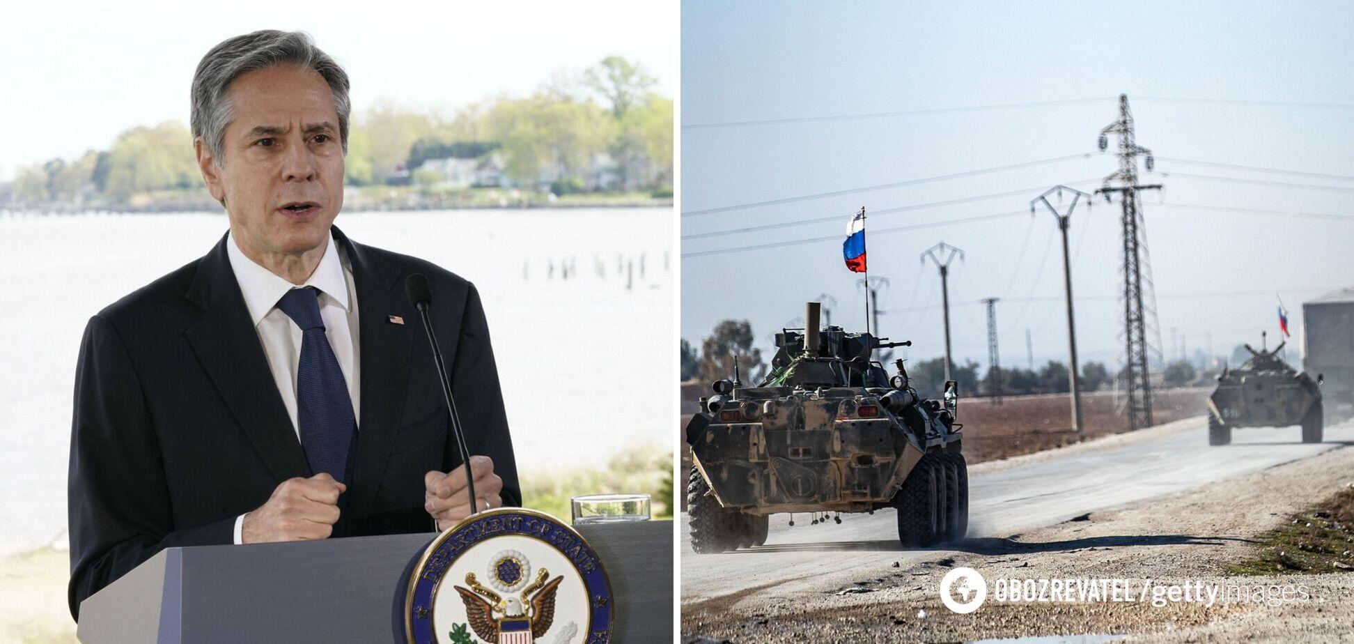 Росія лише частково відвела війська від України, – Блінкен