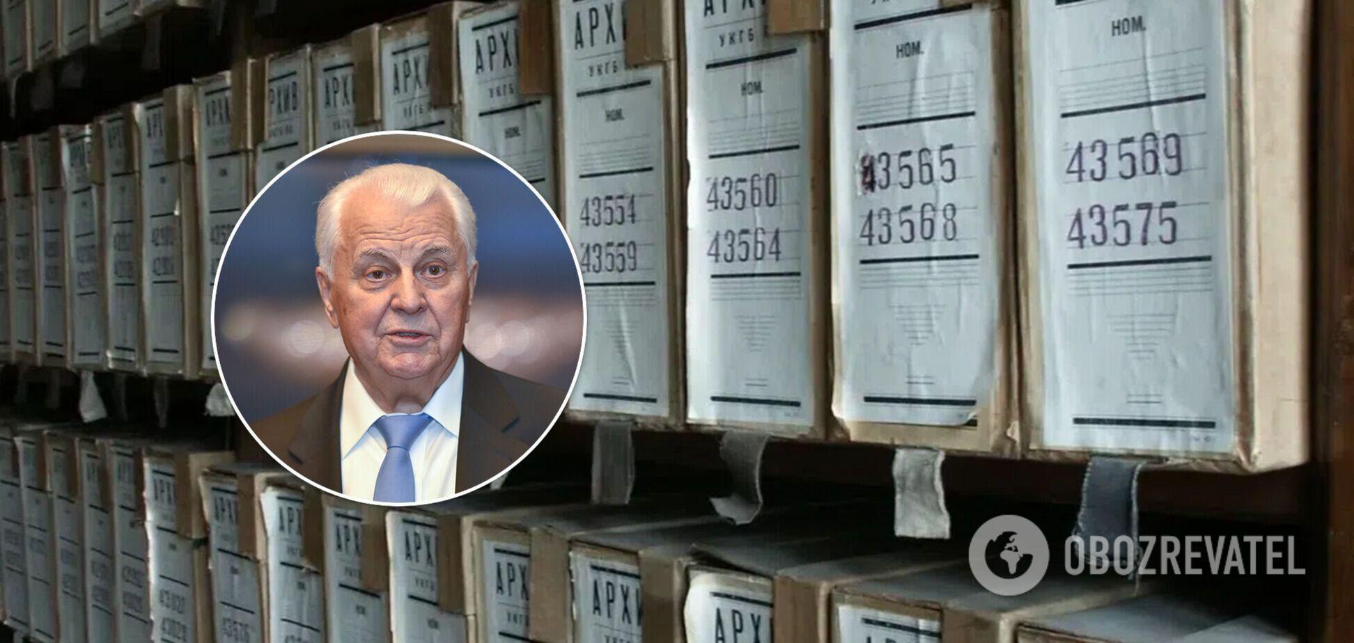 Кравчук пояснив, чому ще за його президентства не розсекретили архіви КДБ