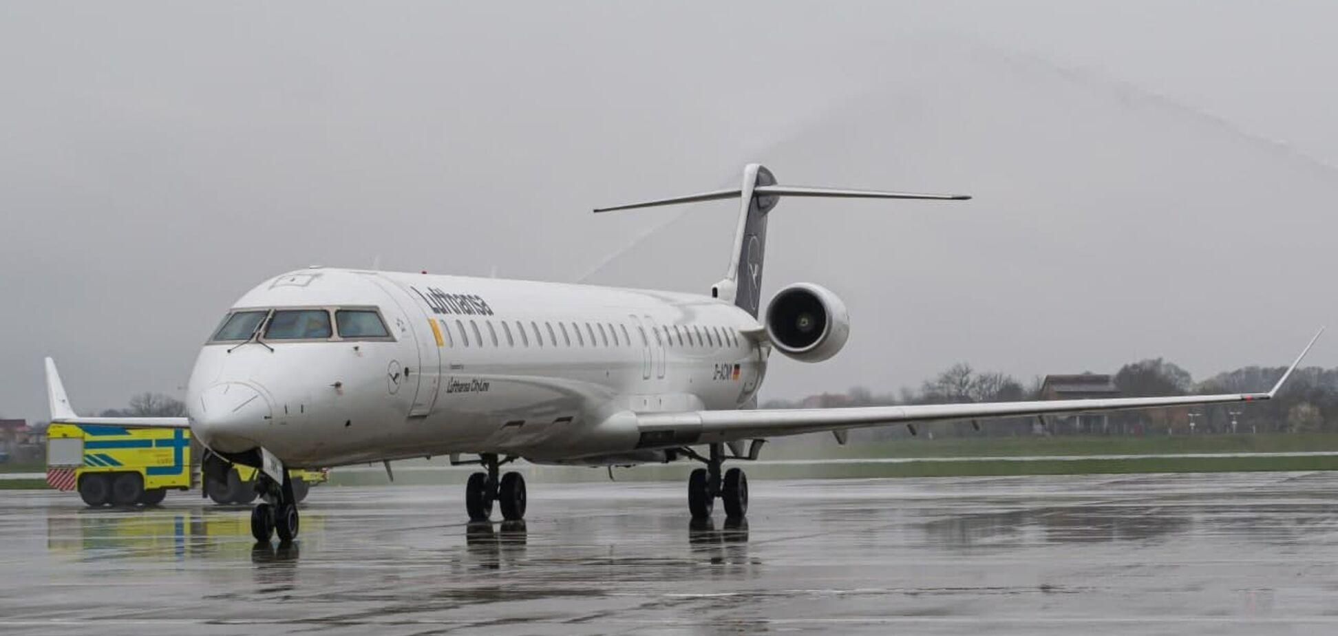 Lufthansa запустила прямые рейсы из Франкфурта во Львов