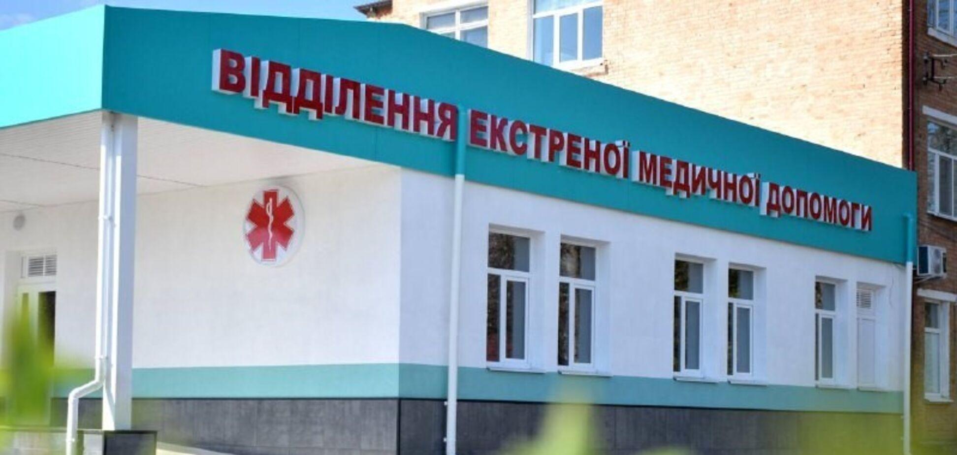 У Гайворонській ЦРЛ готове до прийому пацієнтів оновлене відділення екстреної медичної допомоги