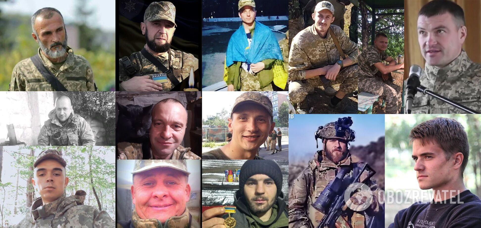 Навеки в строю: 14 героев, отдавших жизнь за Украину в апреле