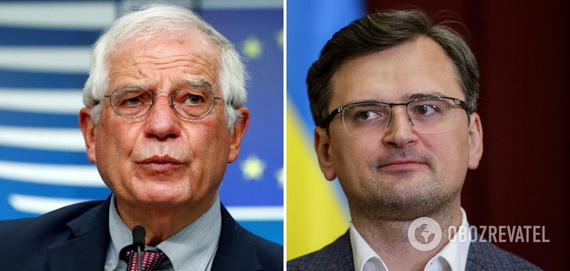 Глави МЗС країн ЄС обговорять військову активність Росії навколо України: запросили Кулебу