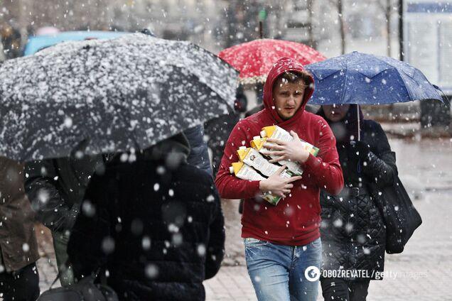 В Украину вернутся ночные морозы, дождь и снег: появился новый прогноз погоды