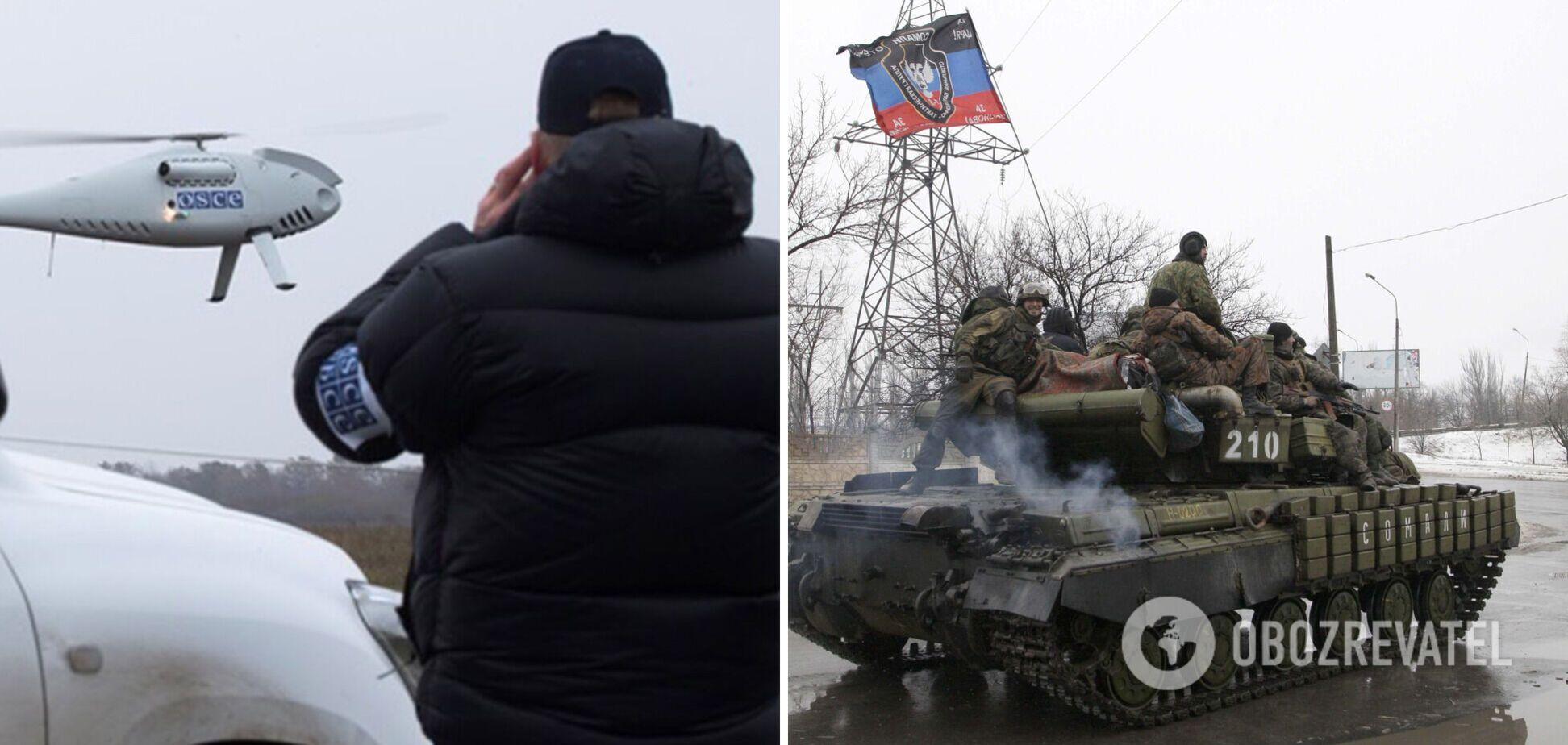 На Донбасі засікли величезну кількість озброєння окупантів