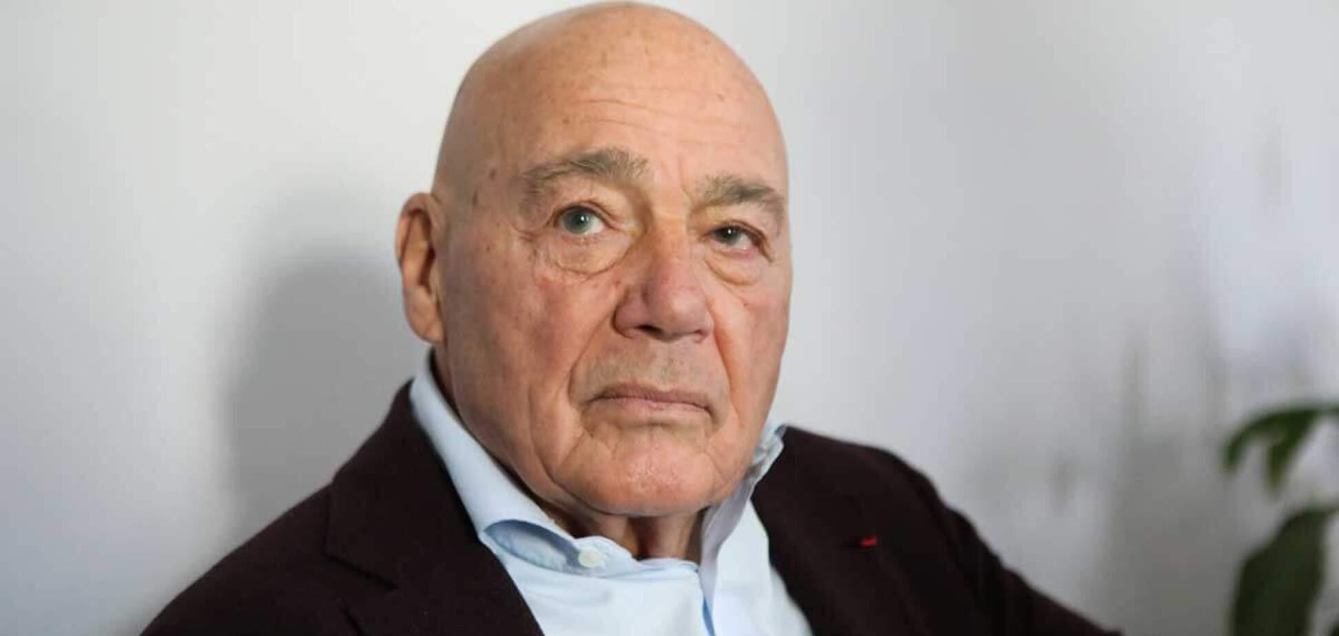 Російський журналіст Володимир Познер