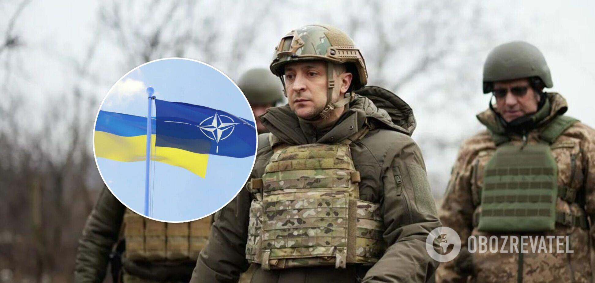 Зеленський розраховує на отримання ПДЧ в НАТО