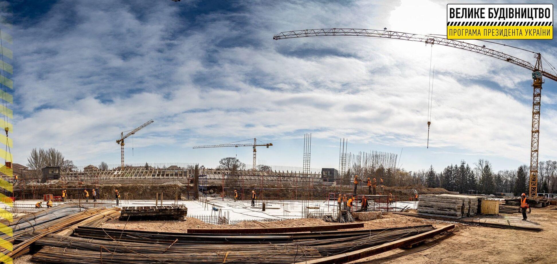 'Большая стройка': стадион 'Металлург' в Кривом Роге после реконструкции сможет принимать матчи еврокубков – ОГА