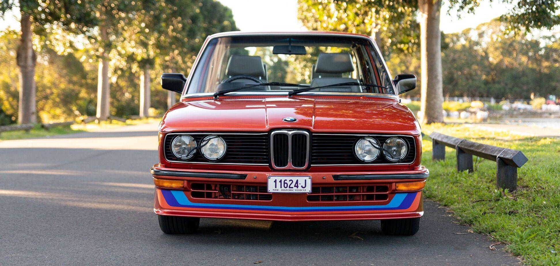 Редчайший BMW выставили на аукцион в Австралии