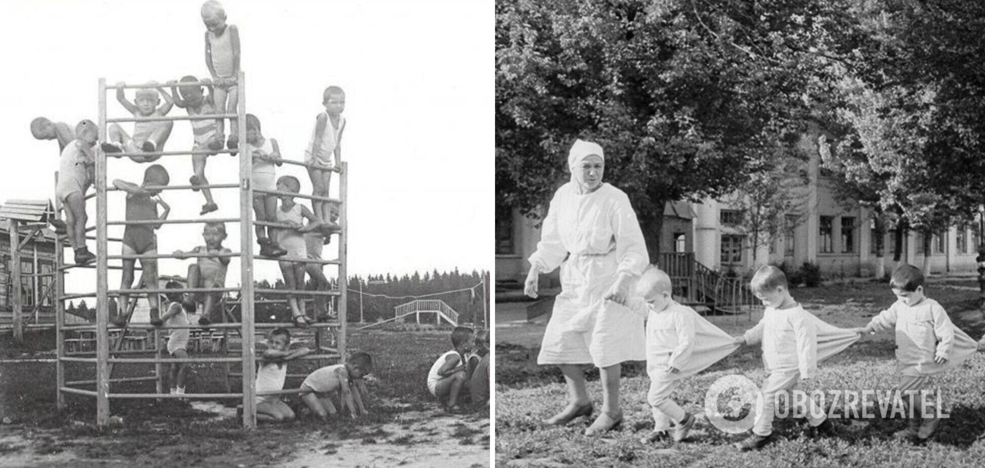 У мережі показали фото дитсадкових дач, де відпочивали радянські діти влітку