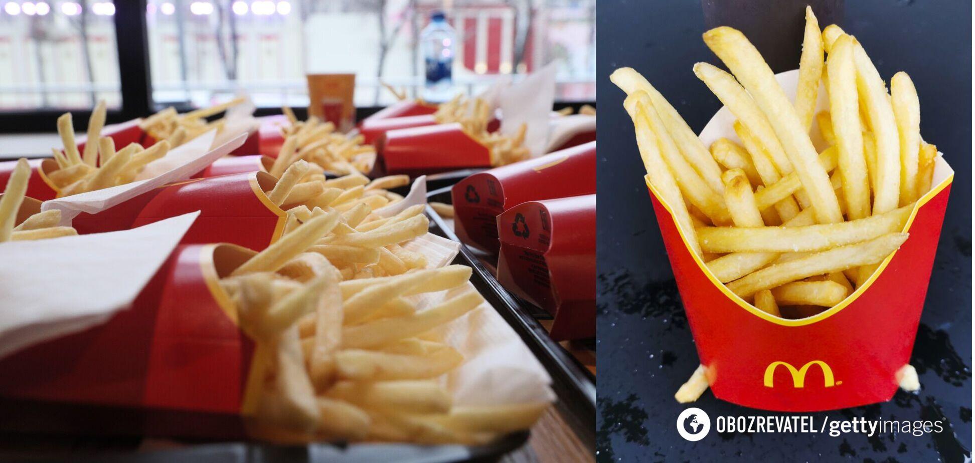 Як донести додому картоплю фрі свіжою: експрацівник McDonald's поділився прийомом