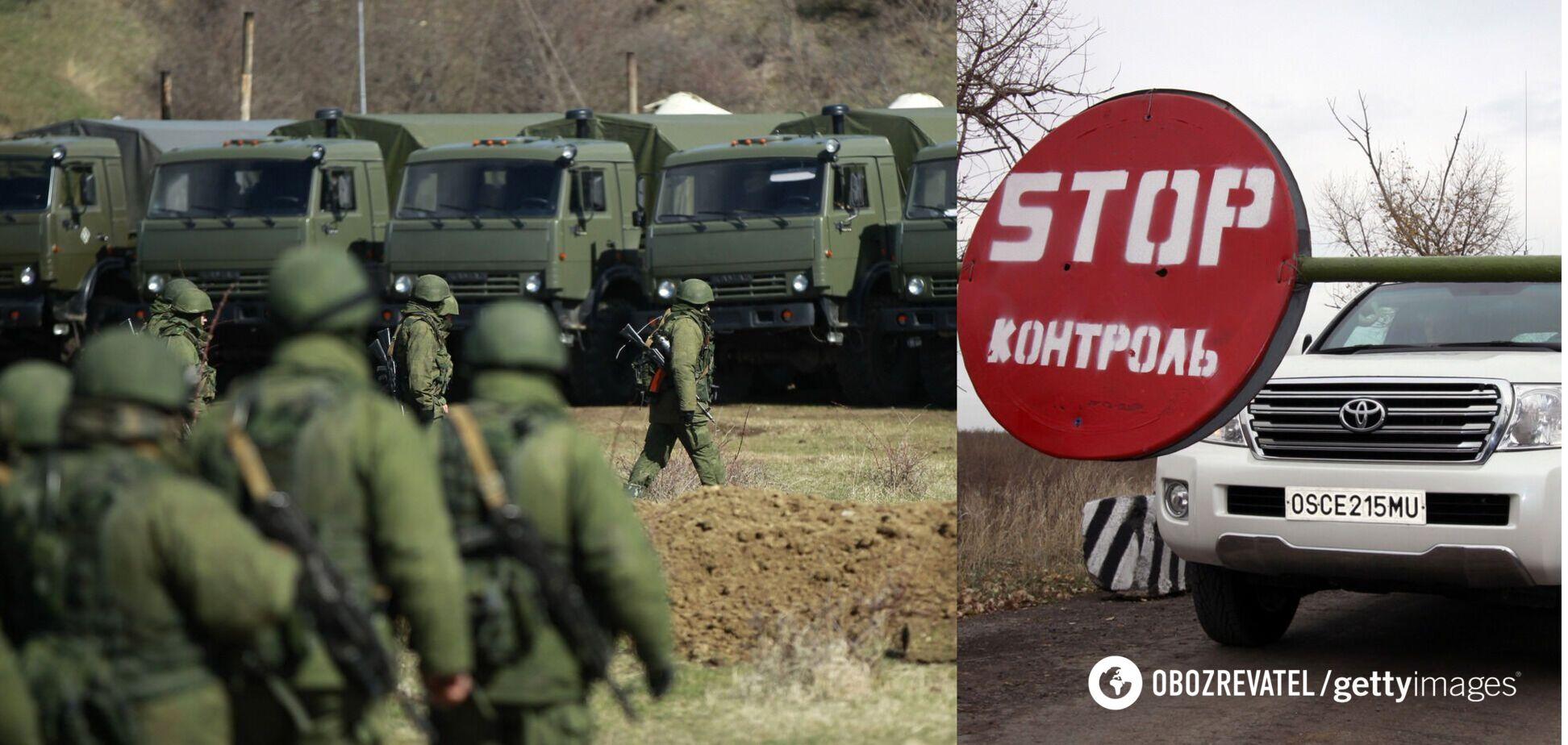 Террористы похвастались очередной колонной техники: ОБСЕ засекла такую на Донбассе. Видео