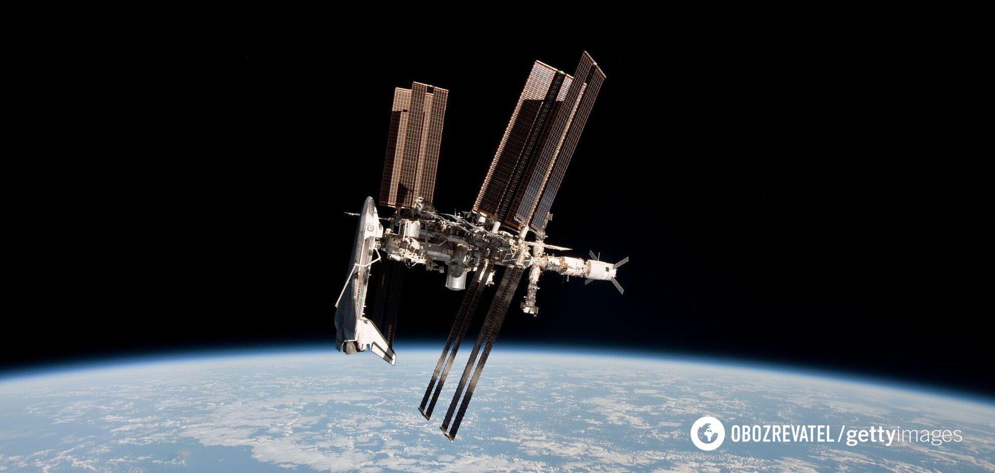 В российской части МКС произошла утечка воздуха