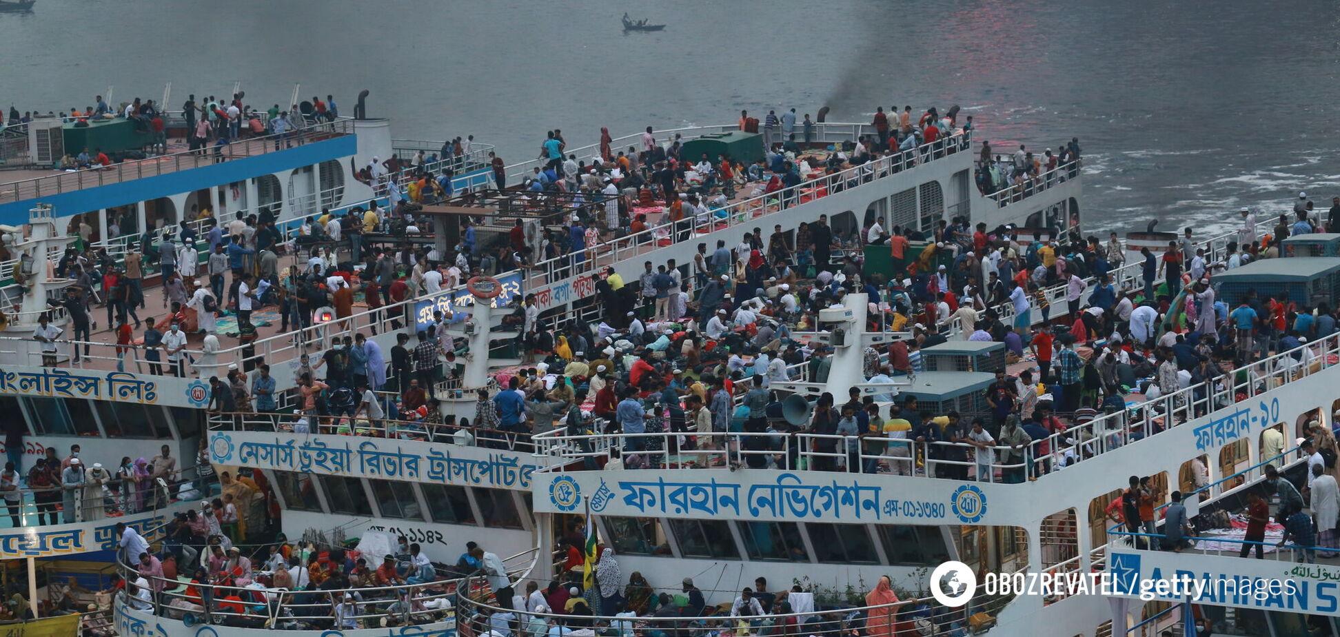 У Бангладеш затонув пором із пасажирами