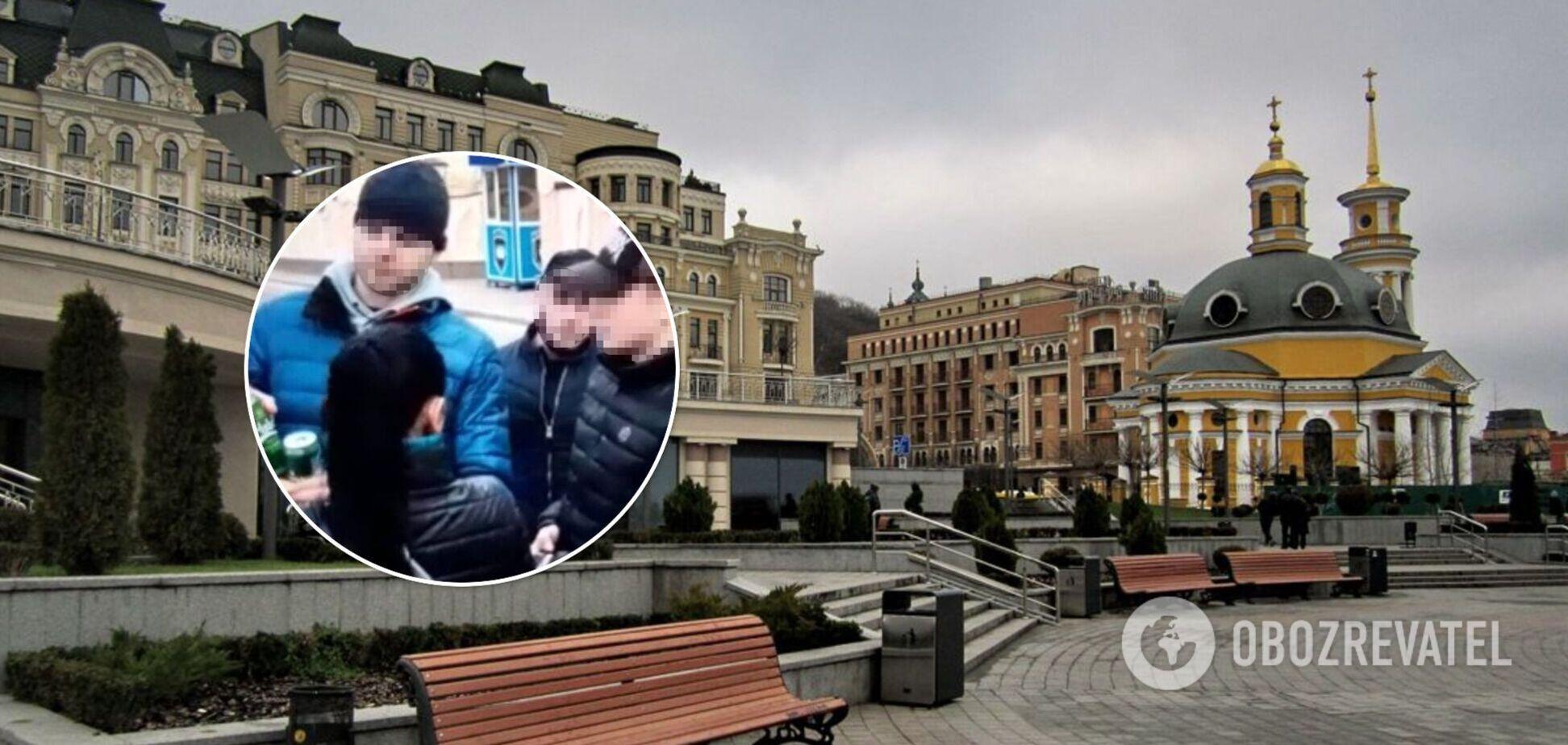 У Києві двоє росіян побили хлопця через 'слабоалкоголку'. Фото