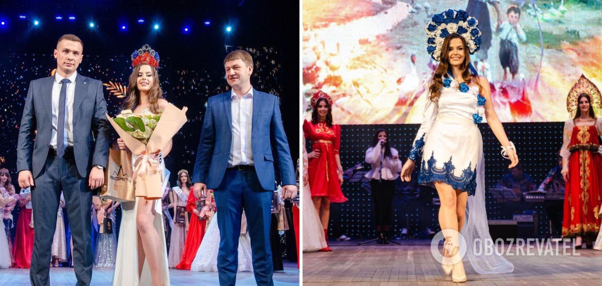 В 'ДНР' прошел конкурс 'Краса Донбасса-2021': в сети раскритиковали победительницу. Видео