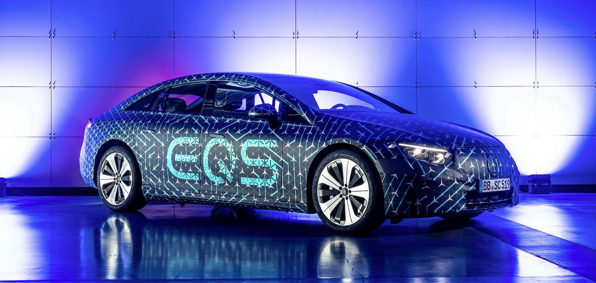 Mercedes-Benz поділився новими подробицями про EQS