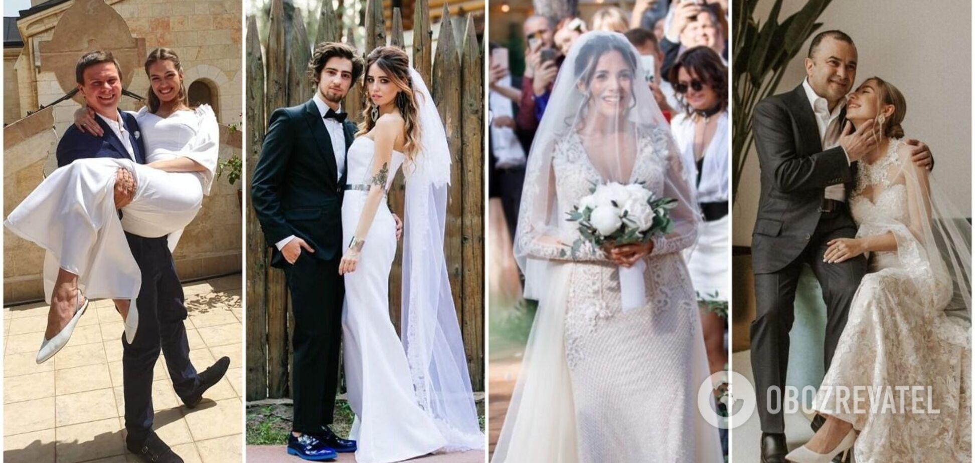 В чем выходили замуж Каменских, Дорофеева и Джамала: 12 самых красивых свадебных платьев