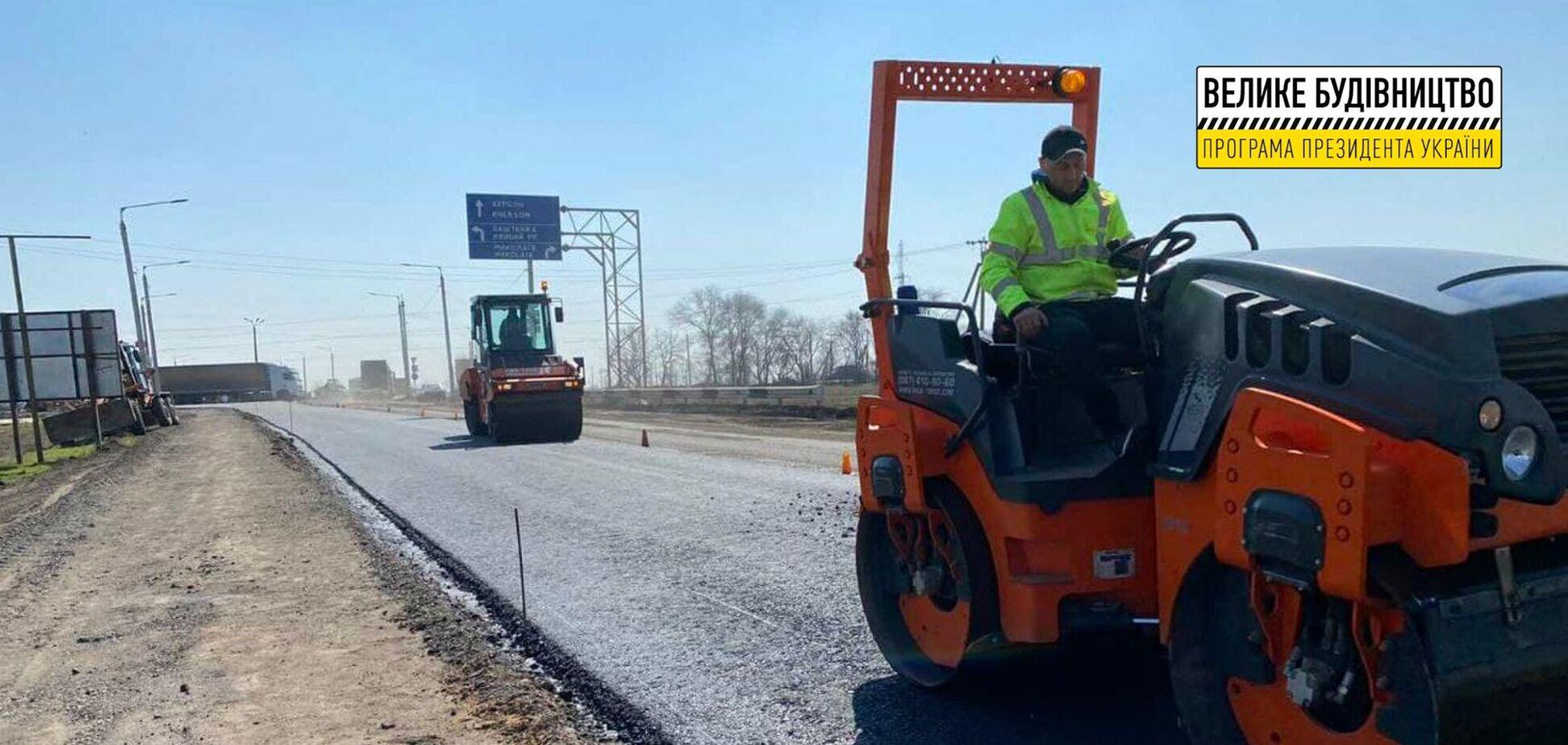 В рамках 'Большой стройки' начался ремонт объездной Николаева