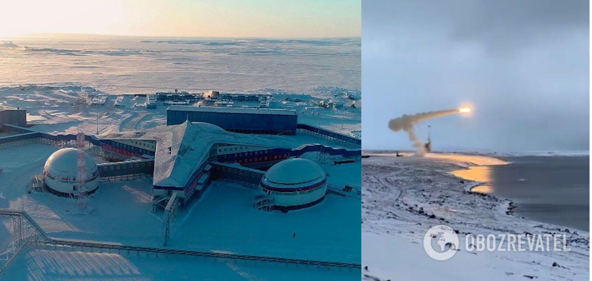 CNN: Россия наращивает присутствие в Арктике и испытывает 'супероружие'. Фото и видео