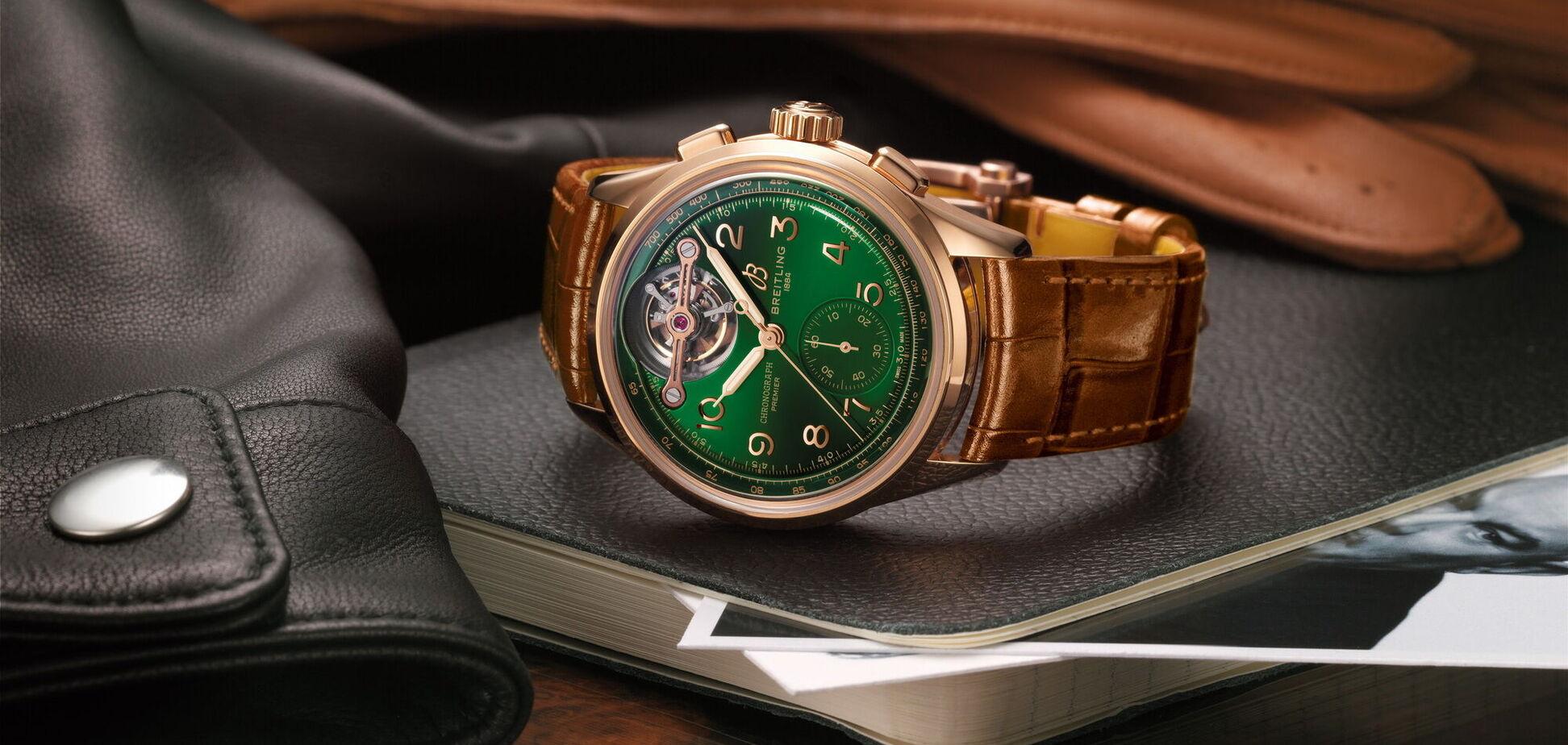 Breitling выпустил эксклюзивный хронограф в честь Bentley