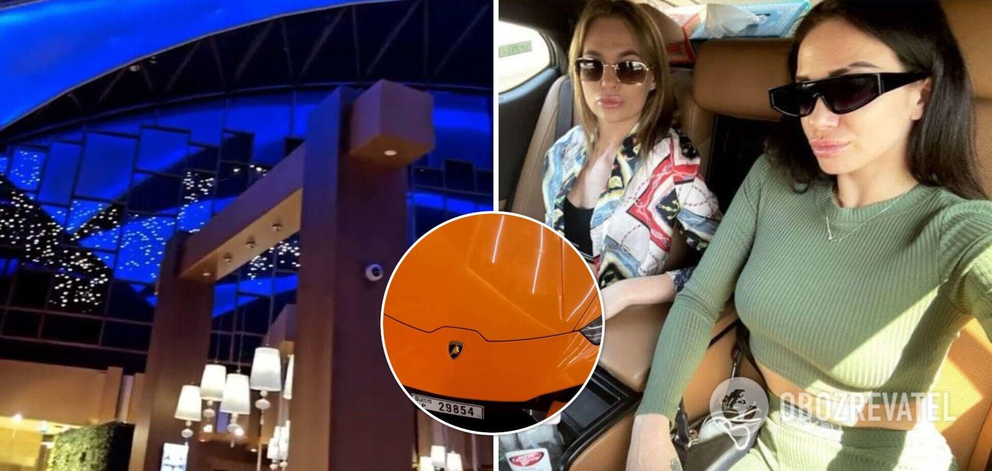 Одна из арестованных украинок в ОАЭ предметно показала свою поездку в Дубай: от аэропорта до шикарных авто и отелей
