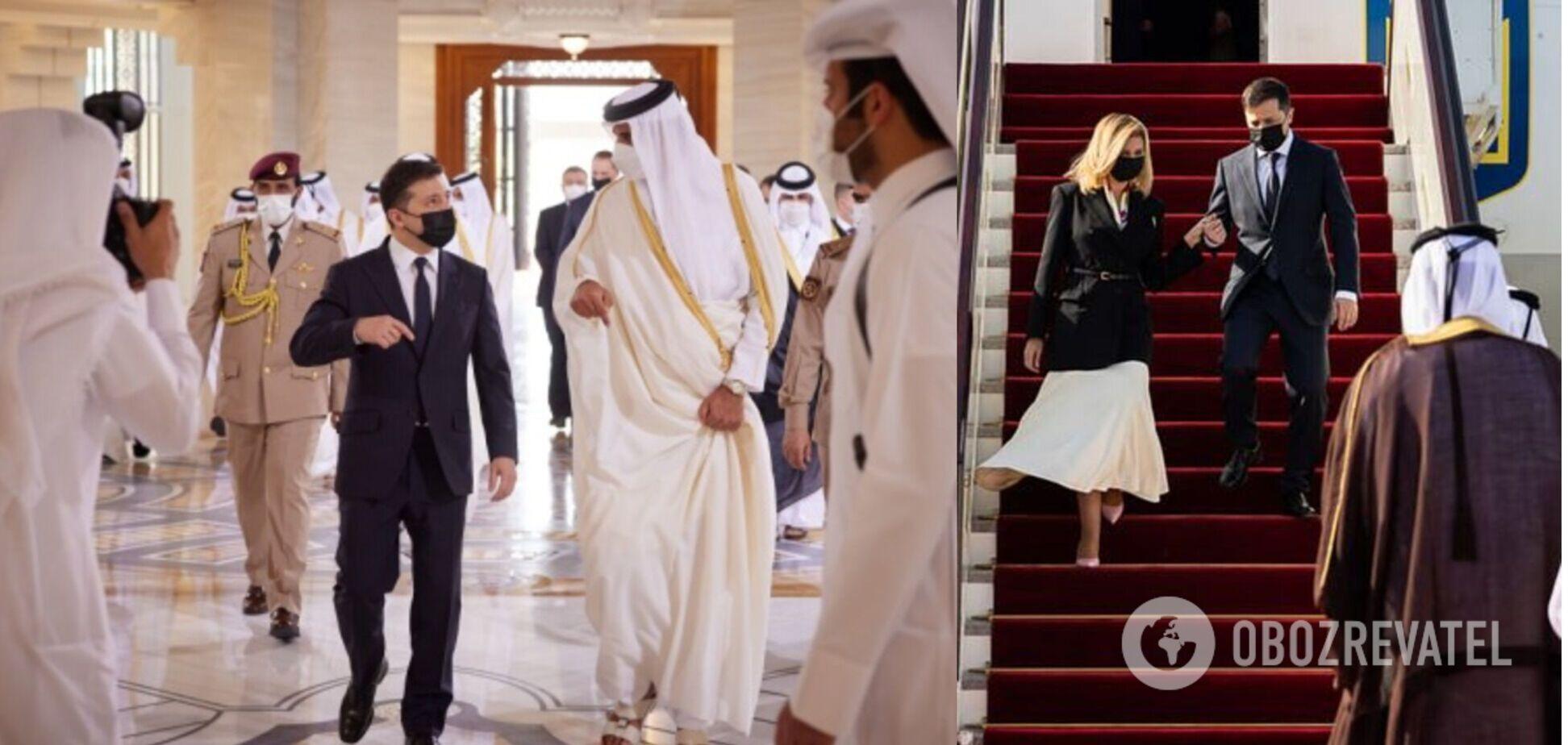 'Зрада и перемога' Зеленского и Порошенко в Катаре