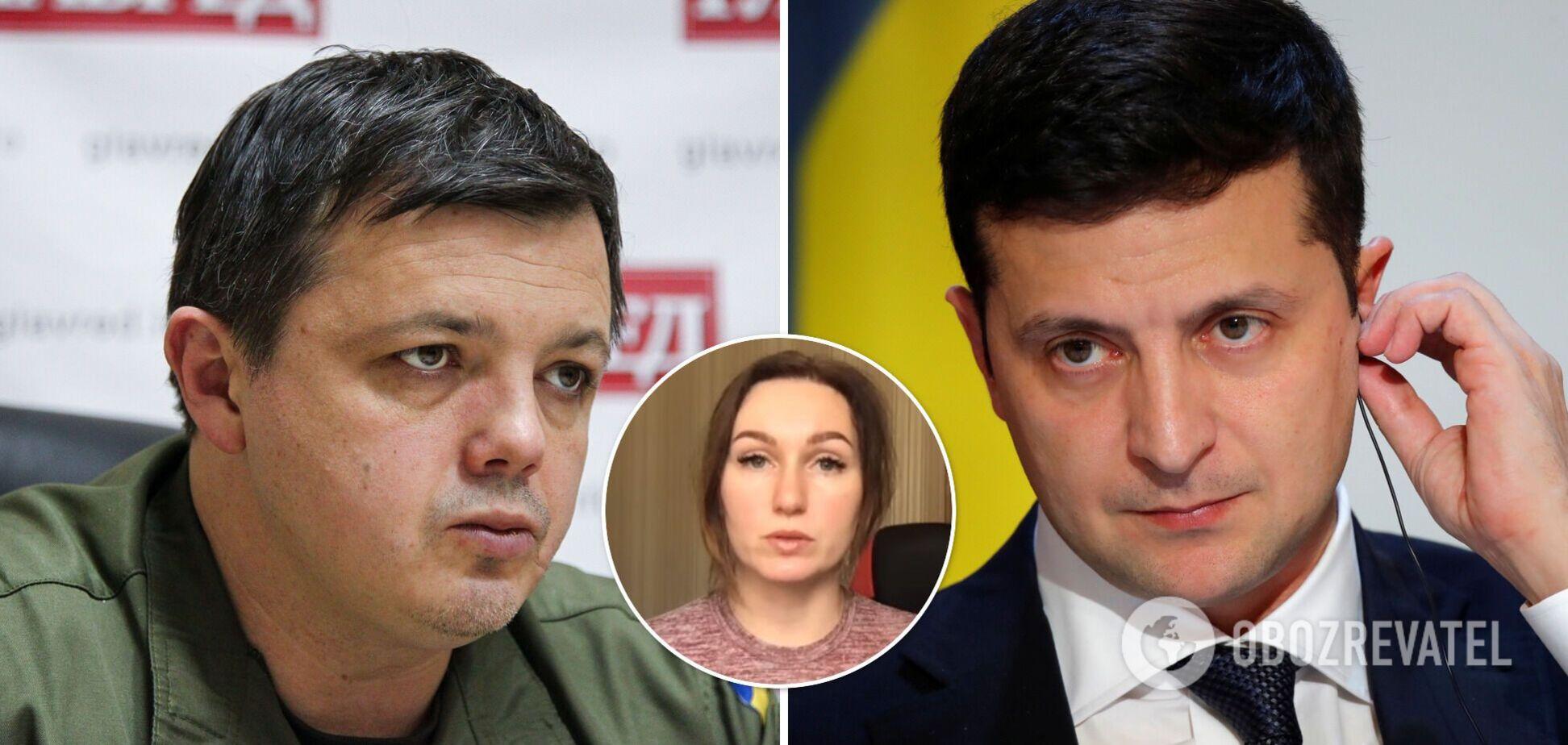 Дружина заарештованого Семенченка звернулася до Зеленського з проханням. Відео