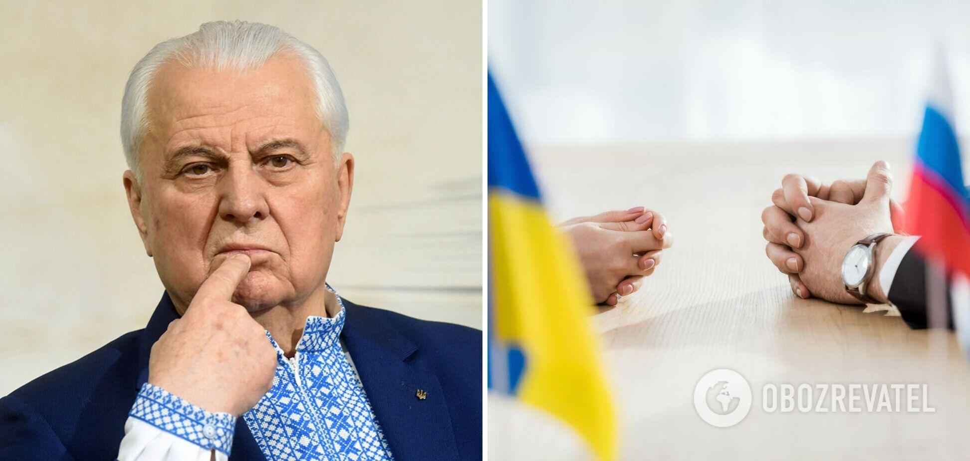 Кравчук розповів, куди можуть перенести переговори ТКГ щодо Донбасу