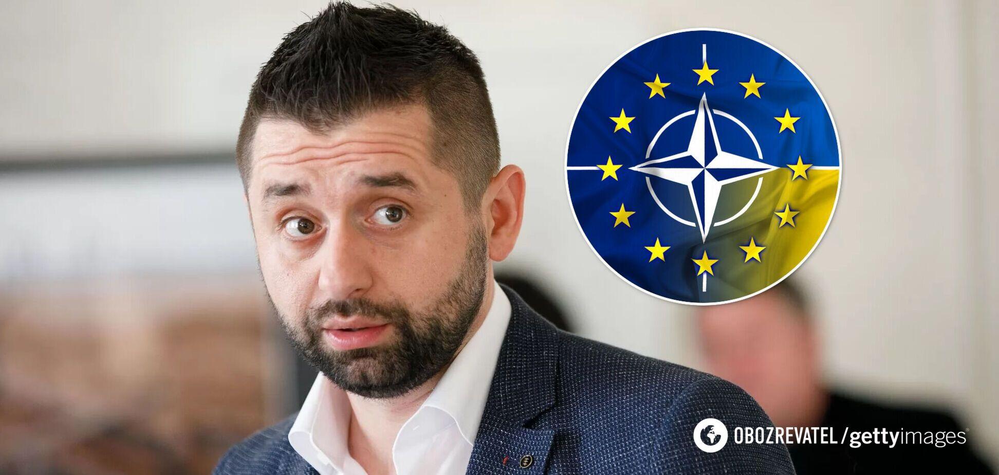 Арахамия объяснил, почему Украина до сих пор не в НАТО