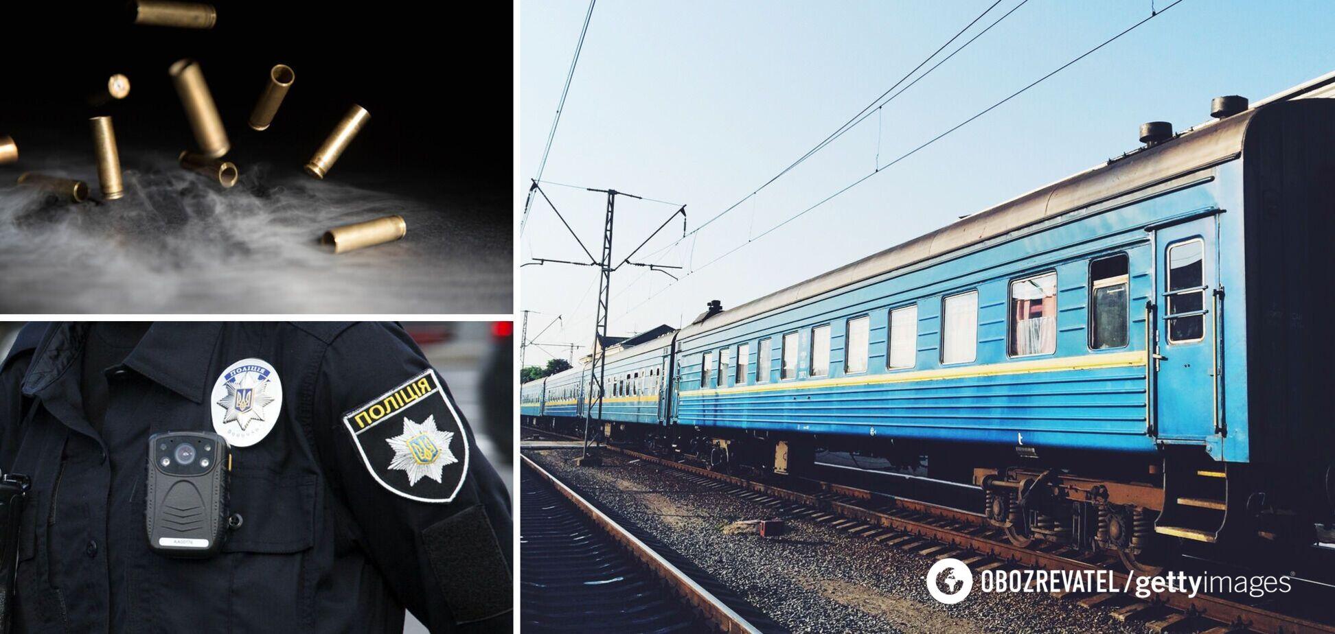 На Харківщині офіцери влаштували стрілянину в купе поїзда: всі деталі