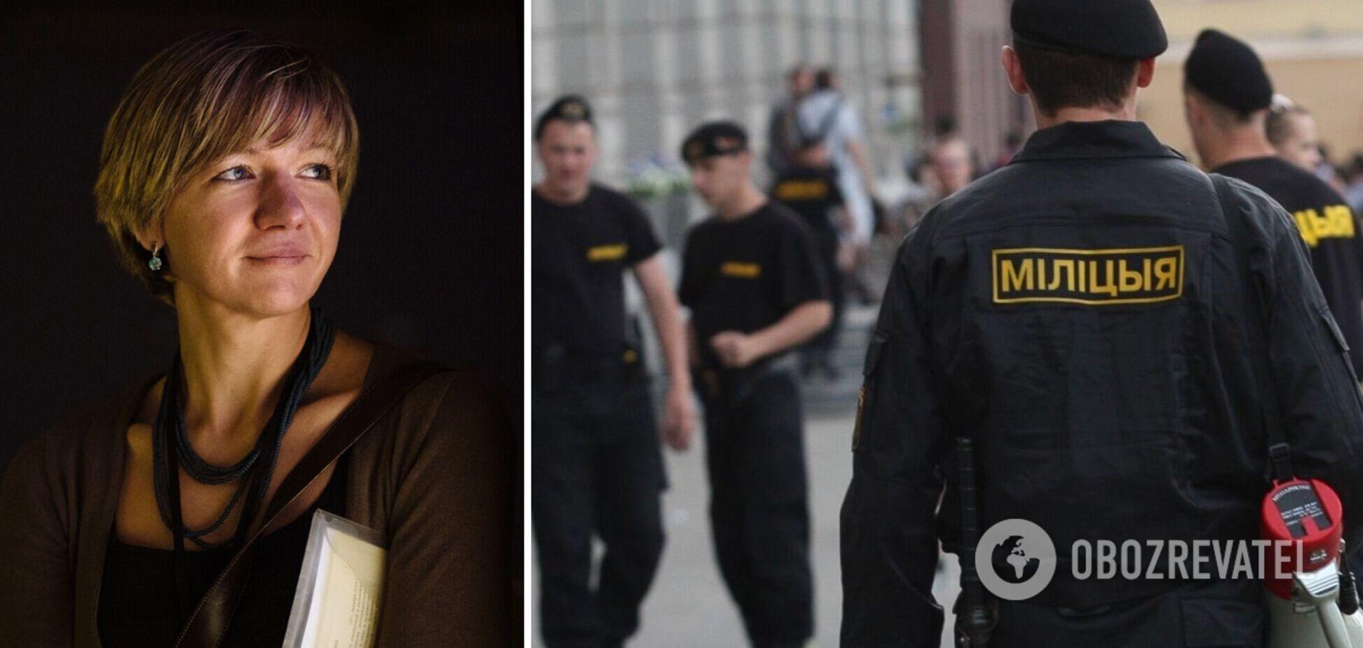 В Беларуси задержали жену украинского правозащитника Яворского