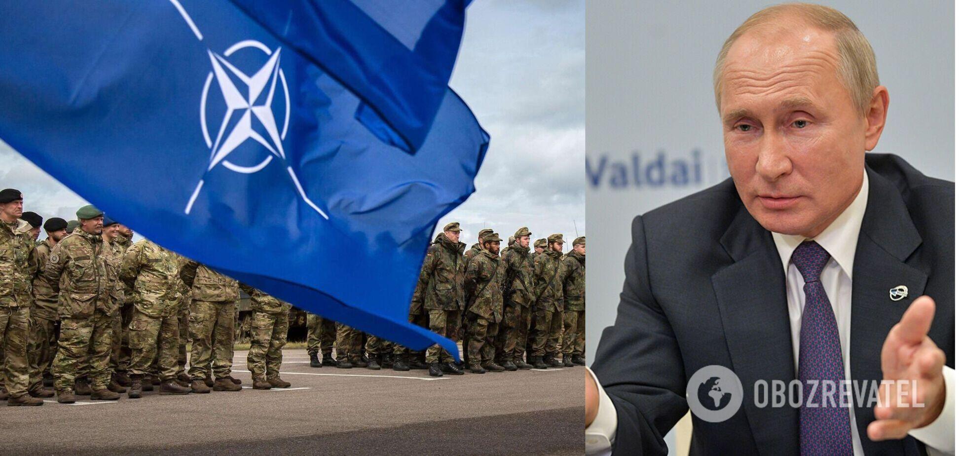 У Путина ответили на заявление Зеленского о вступлении в НАТО