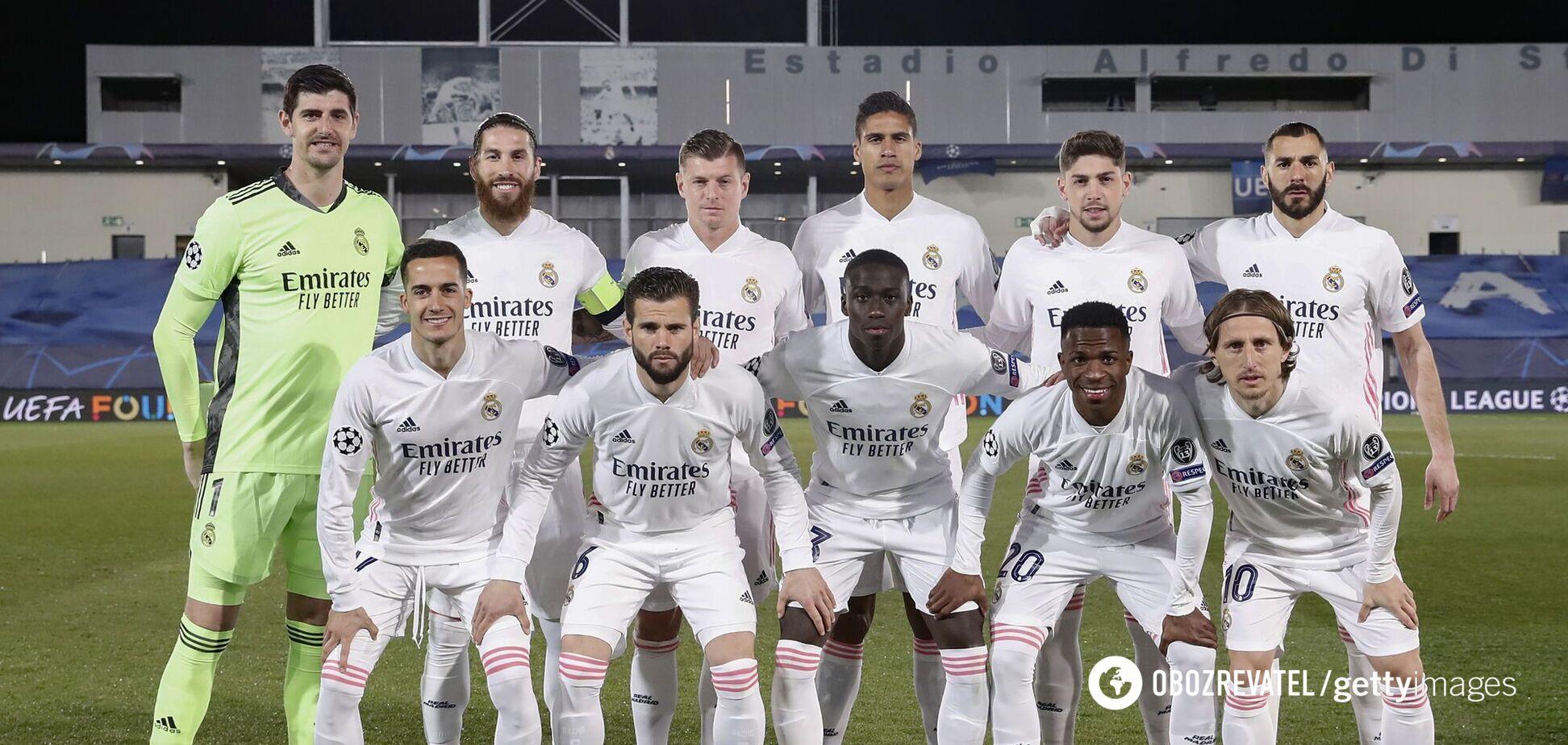 Игроки 'Реала'