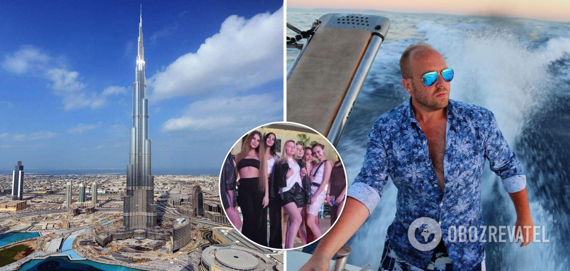 Влаштовував вечірки для депутатів ВР: ЗМІ назвали ім'я організатора голої фотосесії в Дубаї