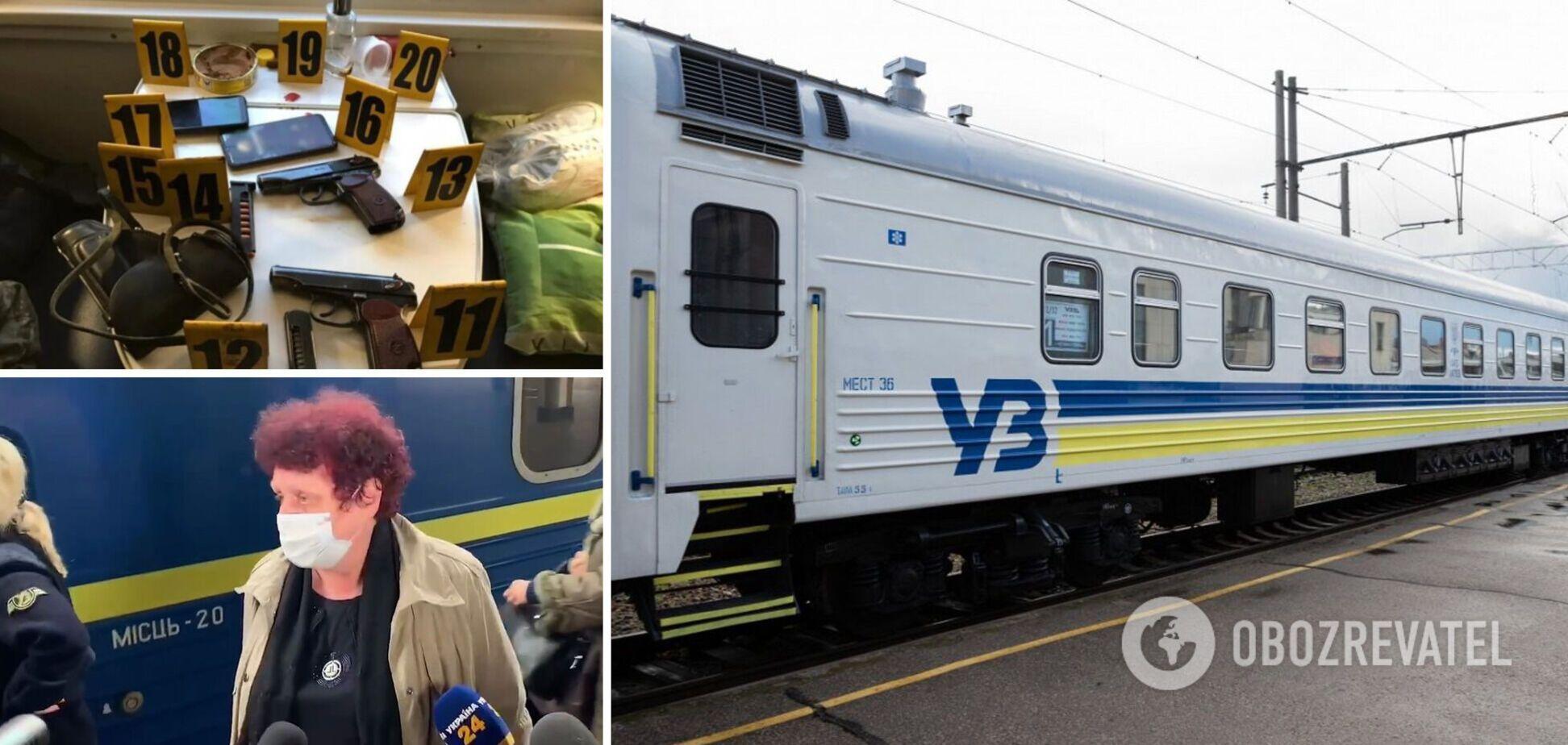 Пасажирка поїзда з Костянтинівки розповіла, чому офіцери почали стрілянину. Відео
