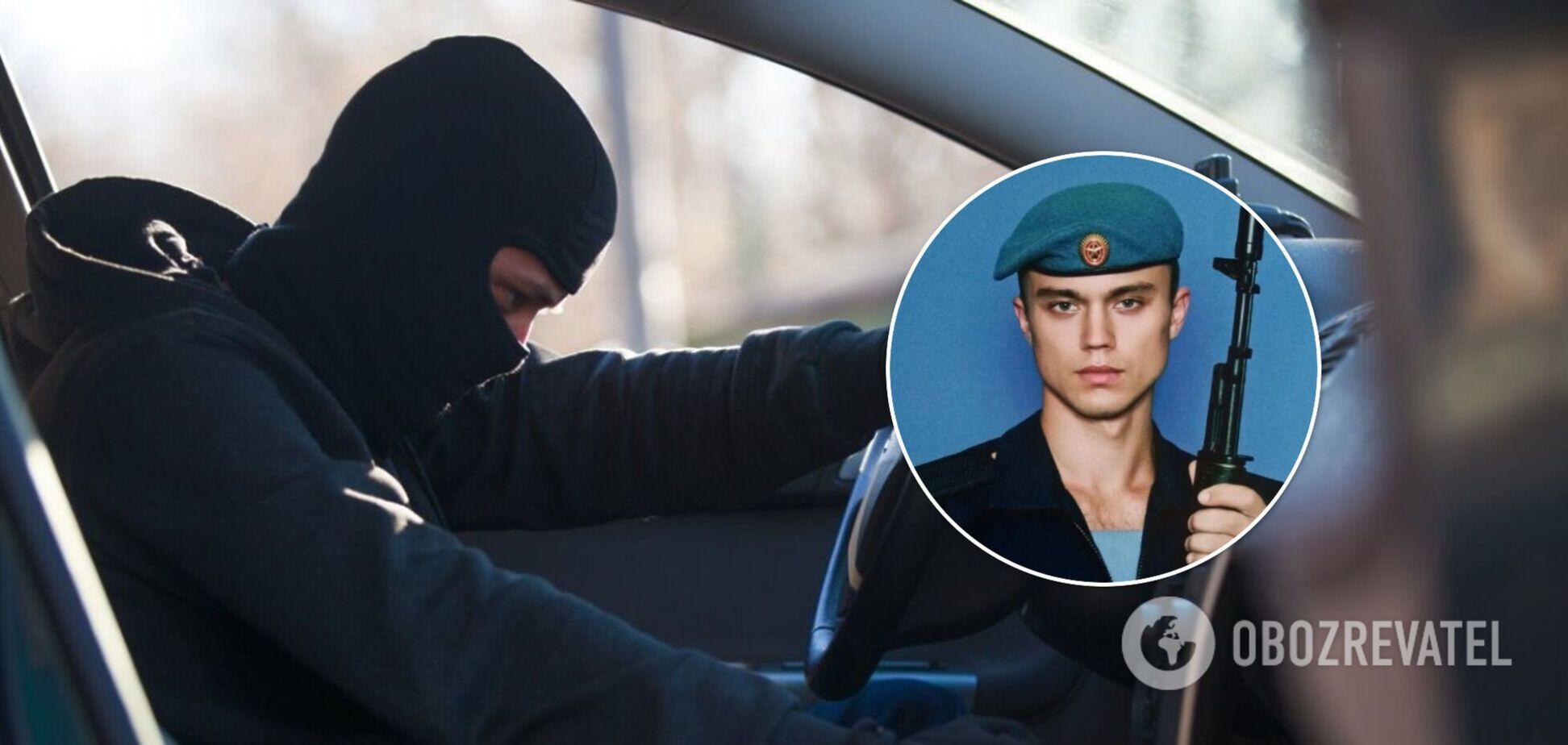 В Крыму задержали военного РФ, угнавшего авто и пытавшегося оторваться от погони. Фото и видео