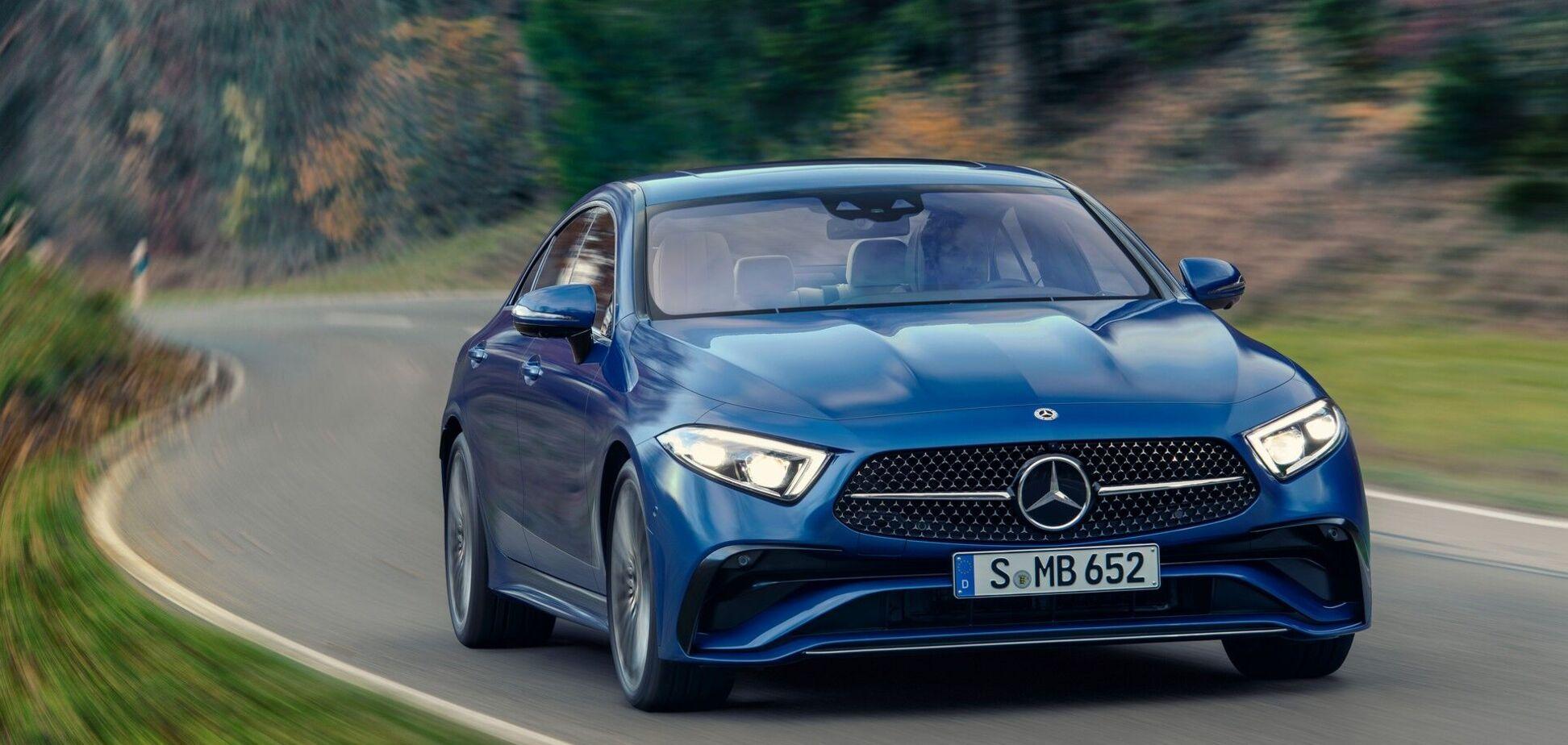 Mercedes-Benz презентував новий CLS