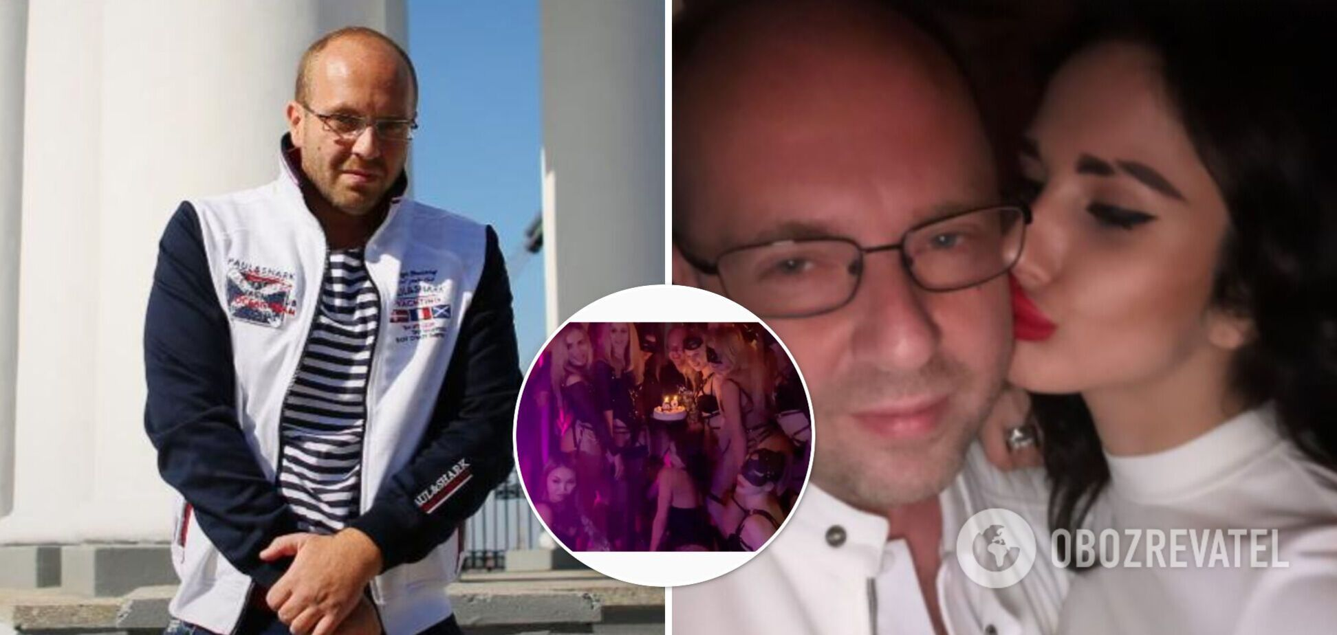 Организатор голой фотосессии в ОАЭ засветился на 'БДСМ-вечеринке'
