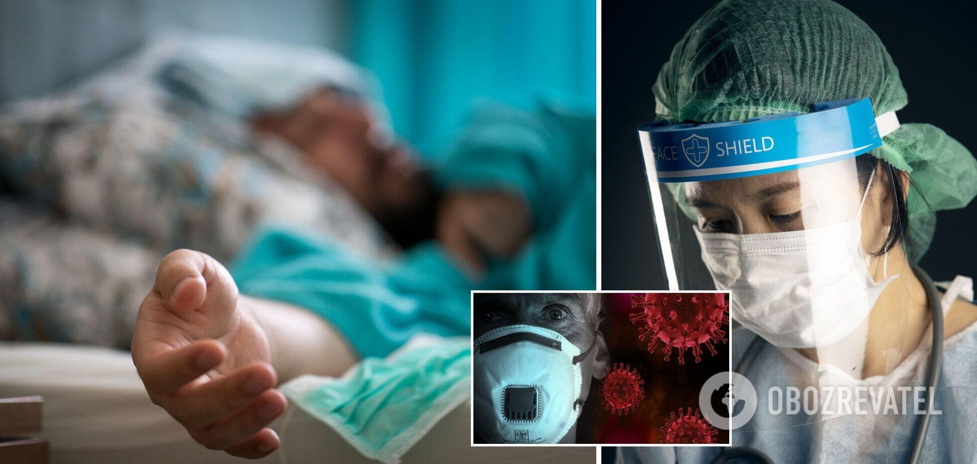 Смертність від коронавірусу в Україні
