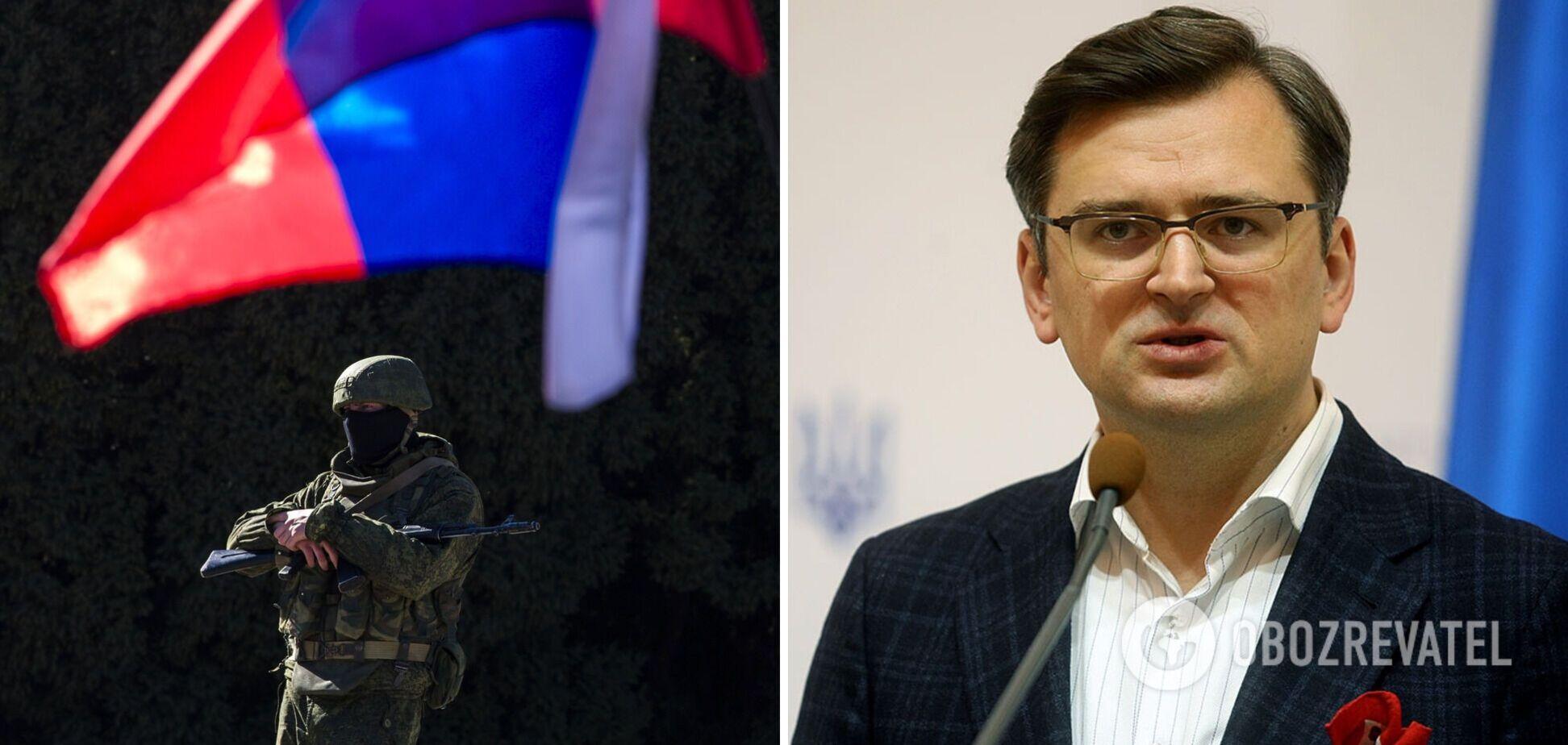 Кулеба заявил, что сегодняшние провокации РФ самые серьезные со времен конфликта в Керченском проливе