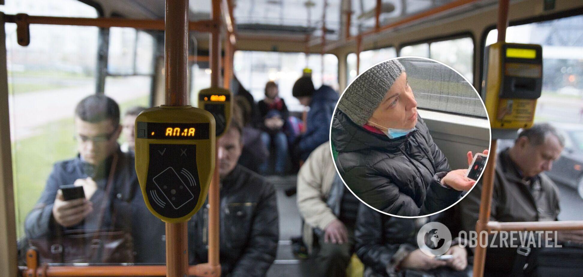 У Львові депутатку оштрафували за безквитковий проїзд у тролейбусі: вона розповіла свою версію. Відео