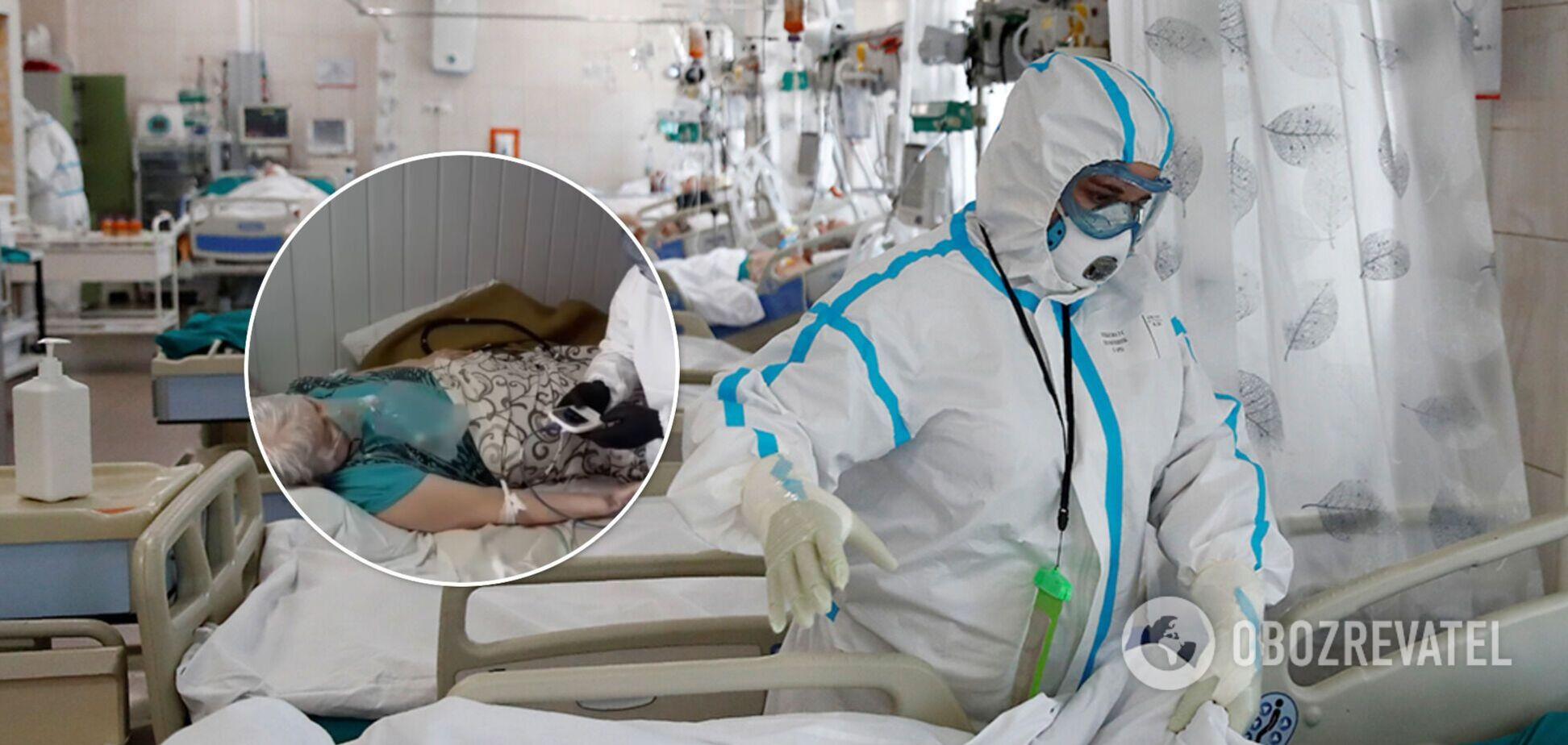 Главный инфекционист Днепра – о COVID-19: отделение заполнено, медперсонал истощен, все падают с ног