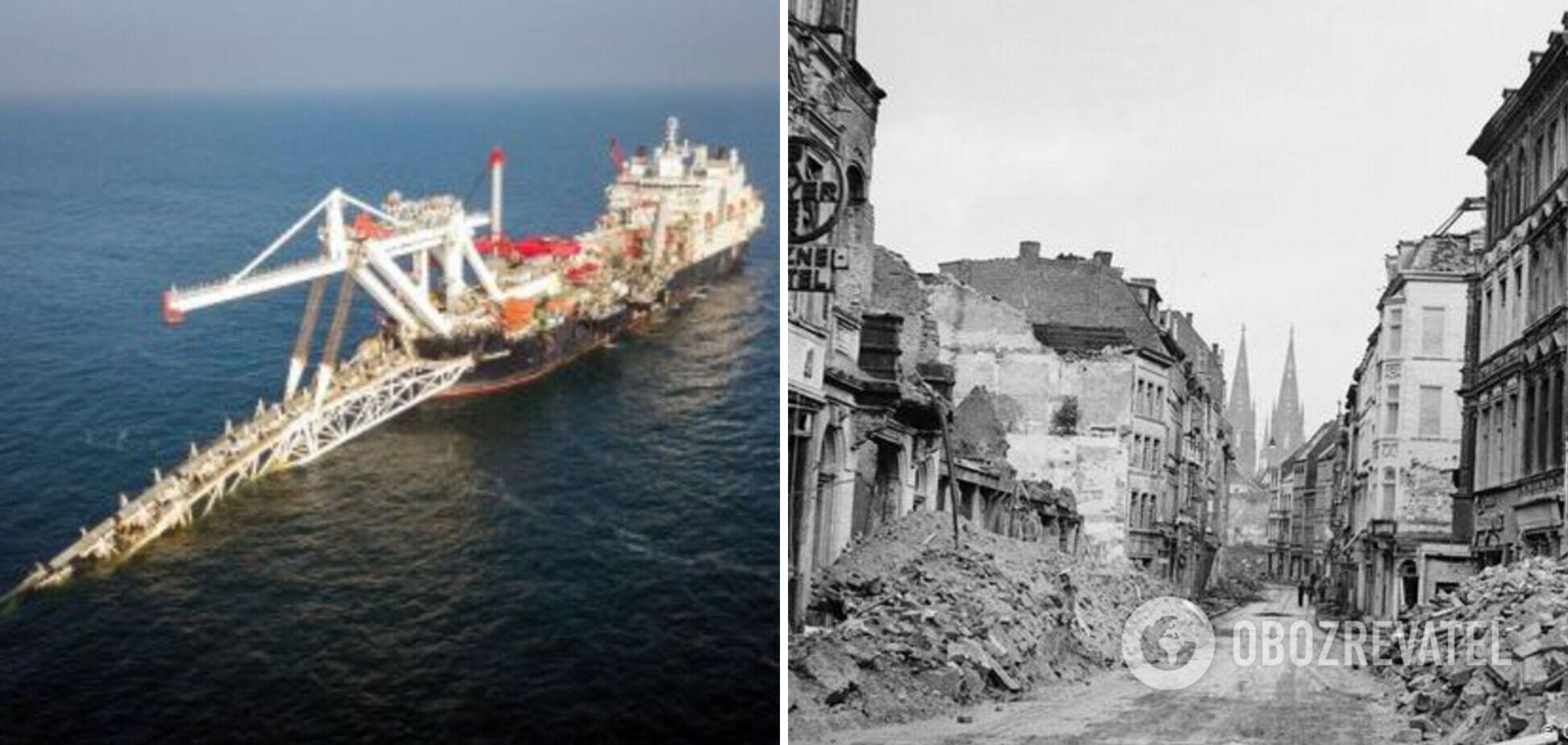 Северный поток-2 как компенсация за Вторую мировую войну